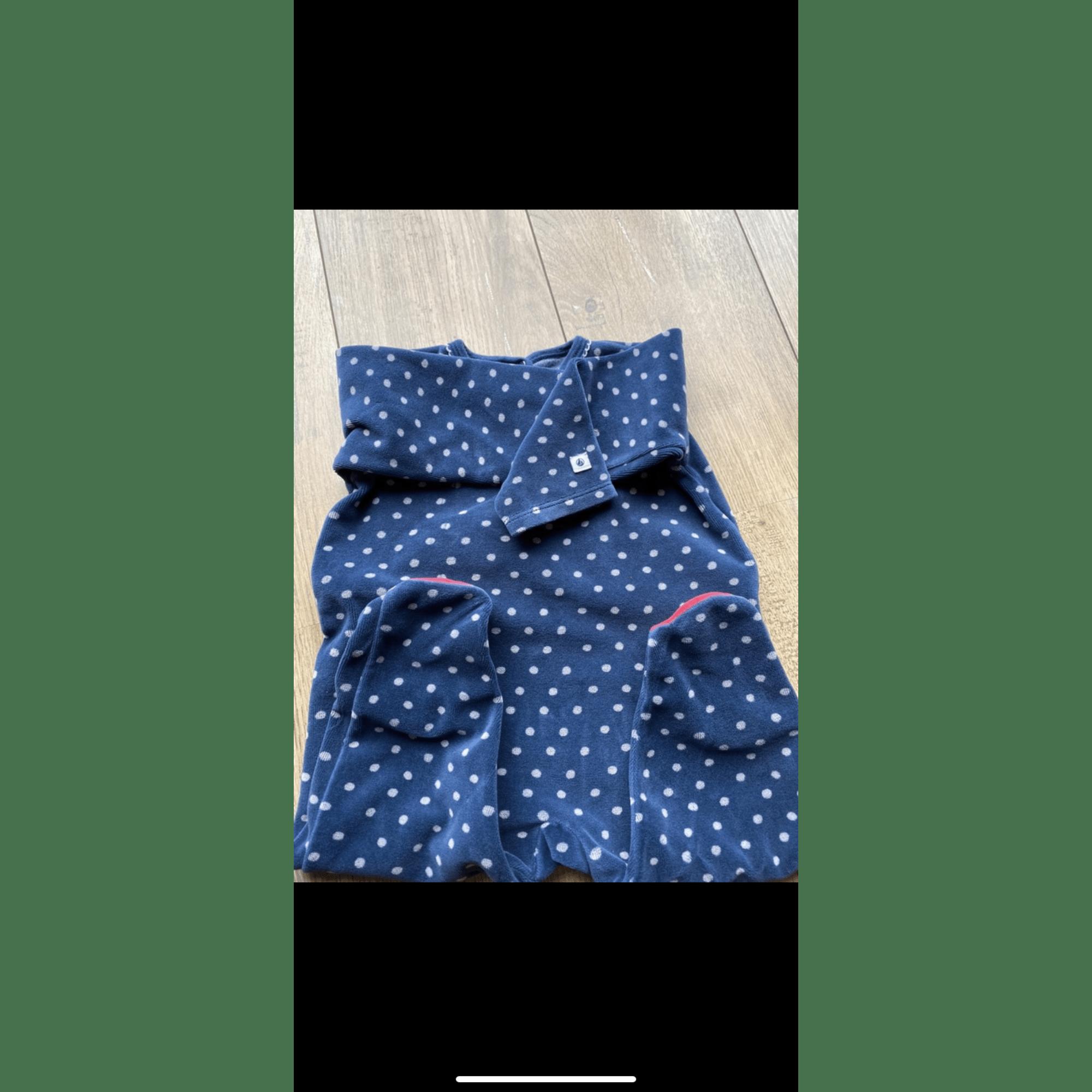 Pyjama PETIT BATEAU Bleu, bleu marine, bleu turquoise