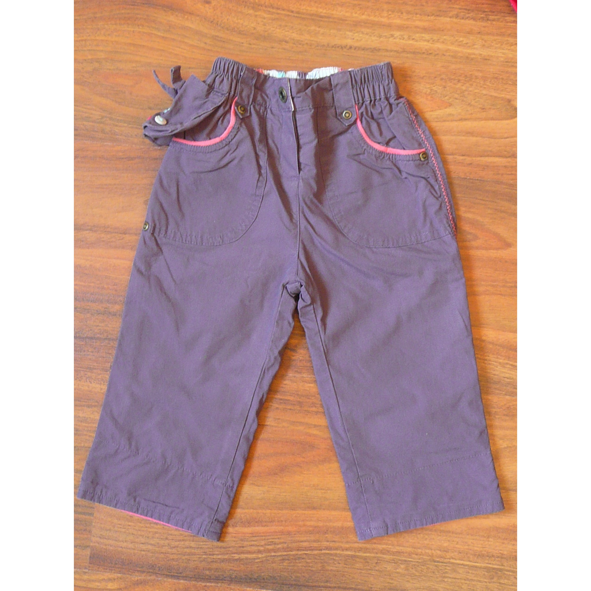 Pantalon CADET ROUSSELLE Violet, mauve, lavande