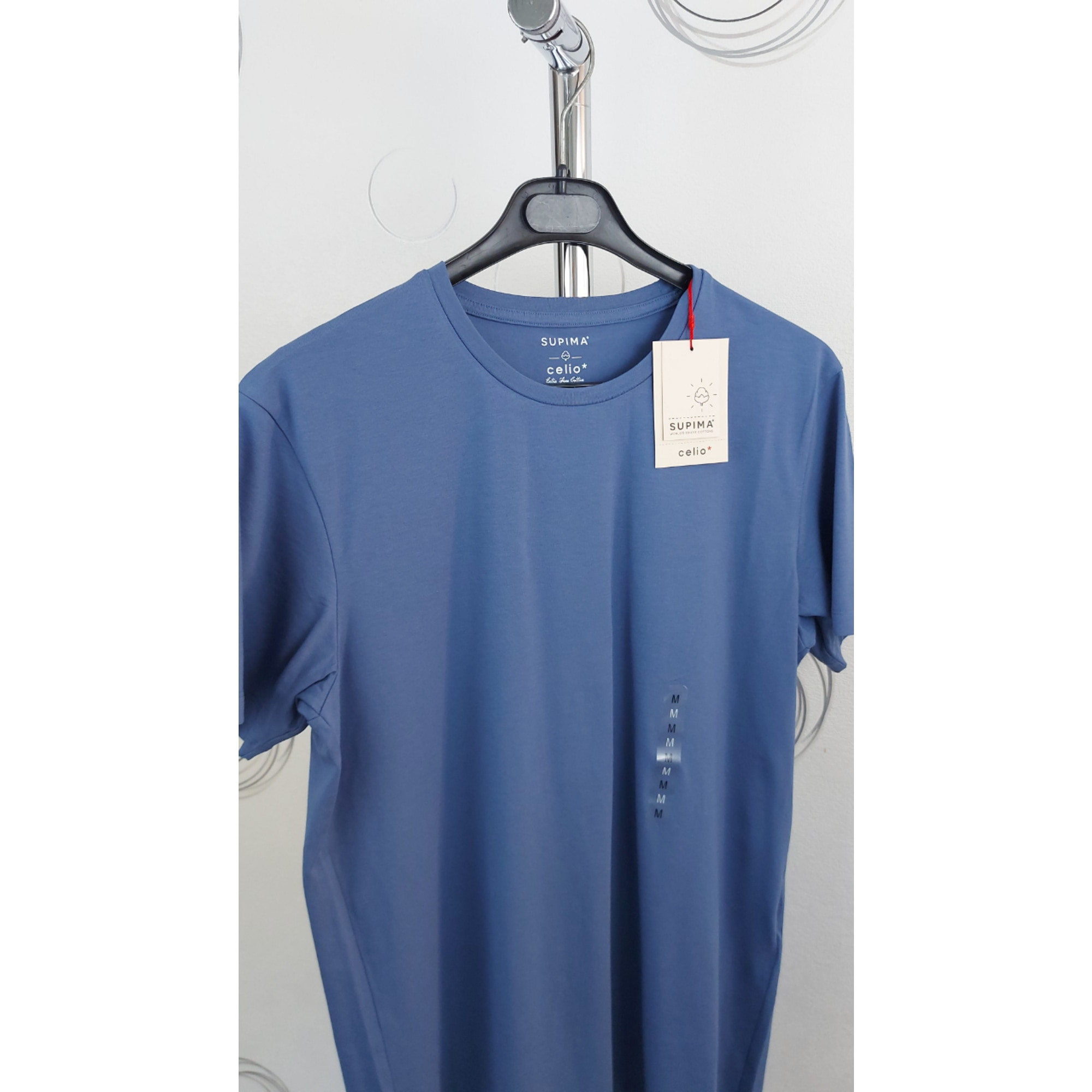 Tee-shirt CELIO Bleu, bleu marine, bleu turquoise