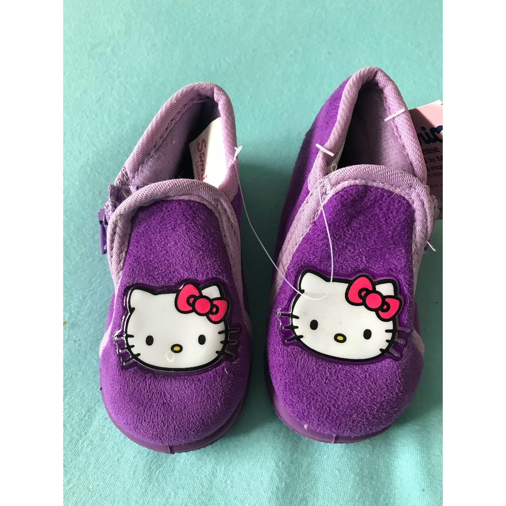 Slippers HELLO KITTY Purple, mauve, lavender
