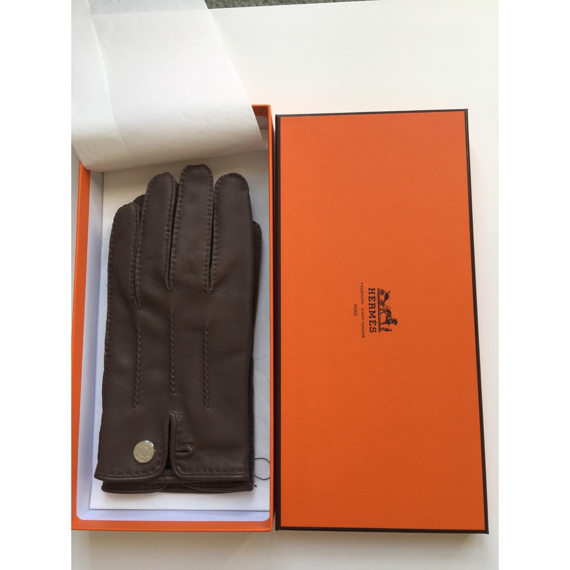 Handschuhe HERMÈS Braun