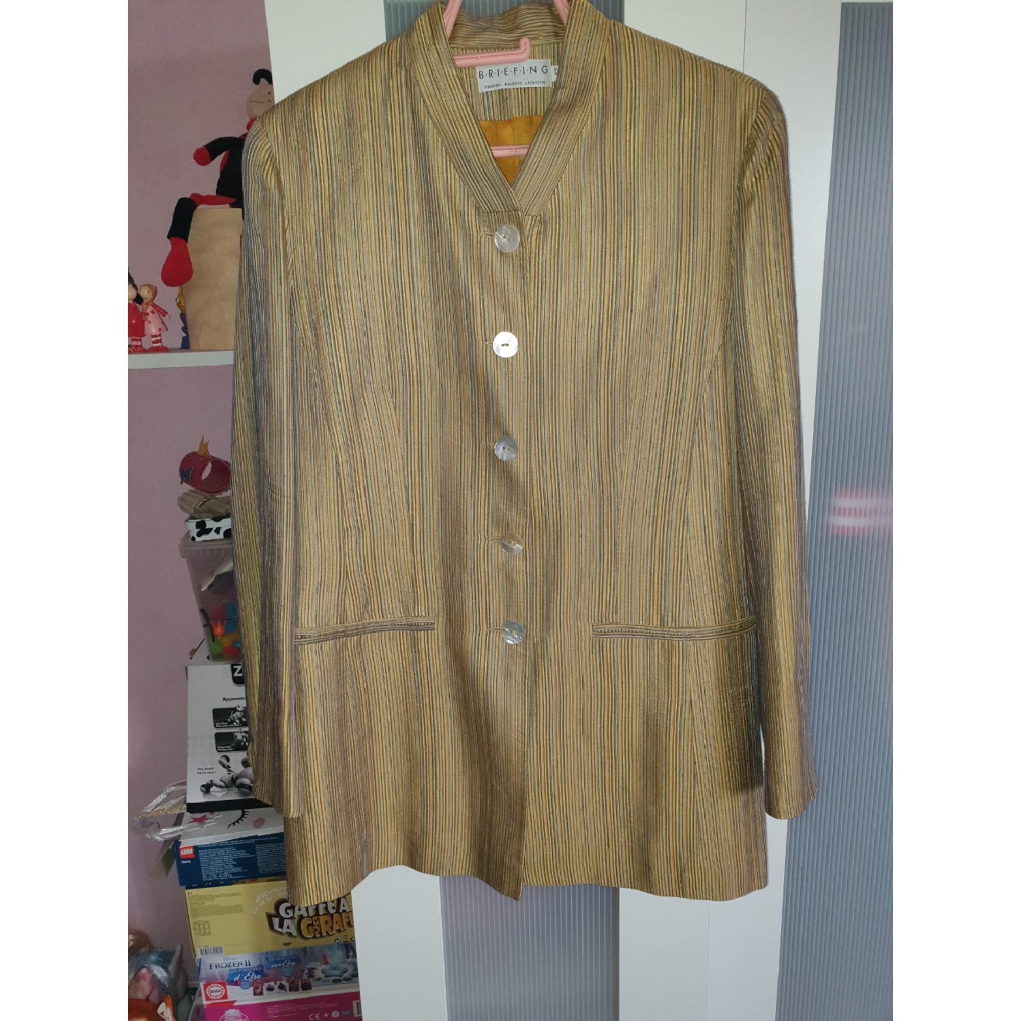 Blazer, veste tailleur GALERIES LAFAYETTE Doré, bronze, cuivre