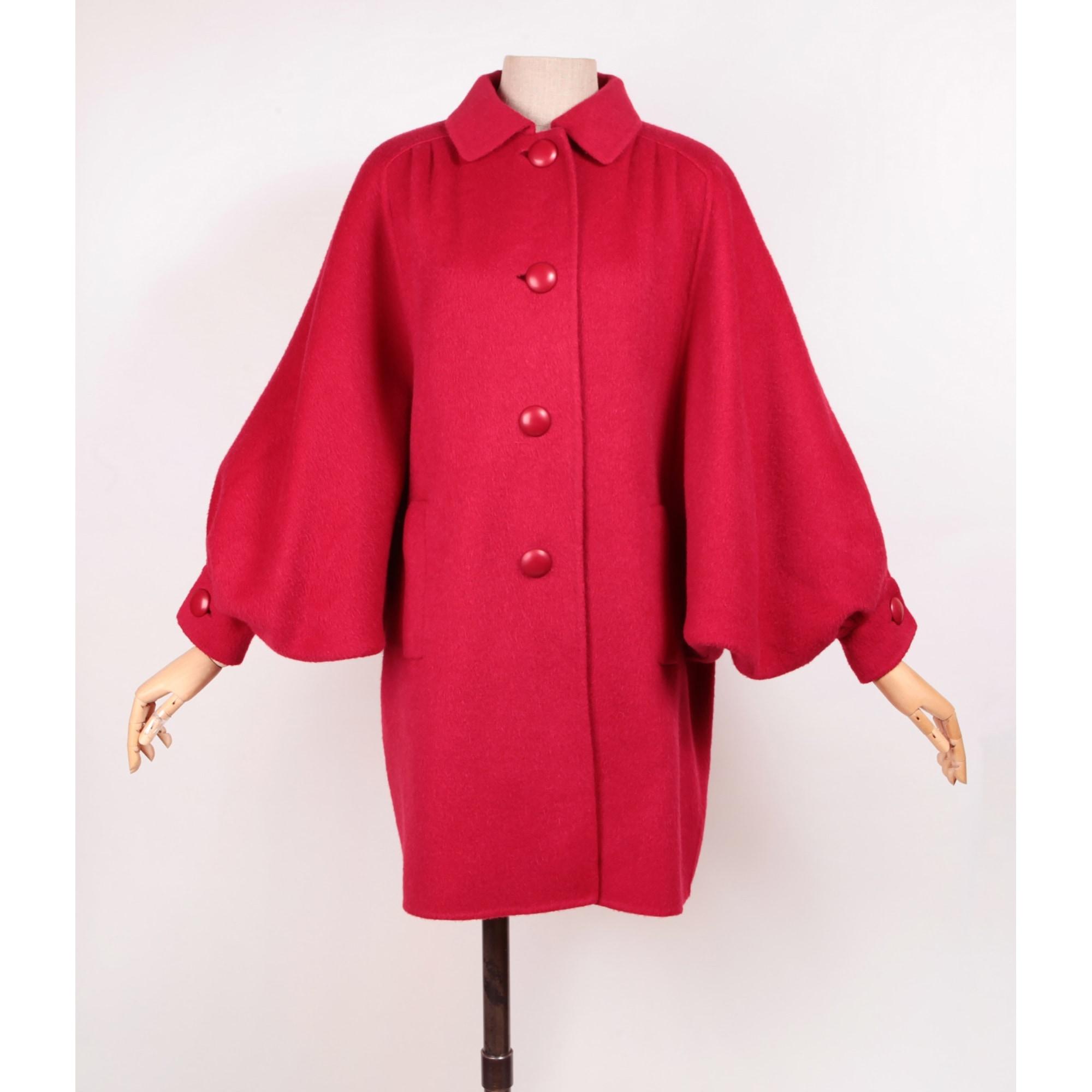 Manteau 100% VINTAGE Rouge, bordeaux