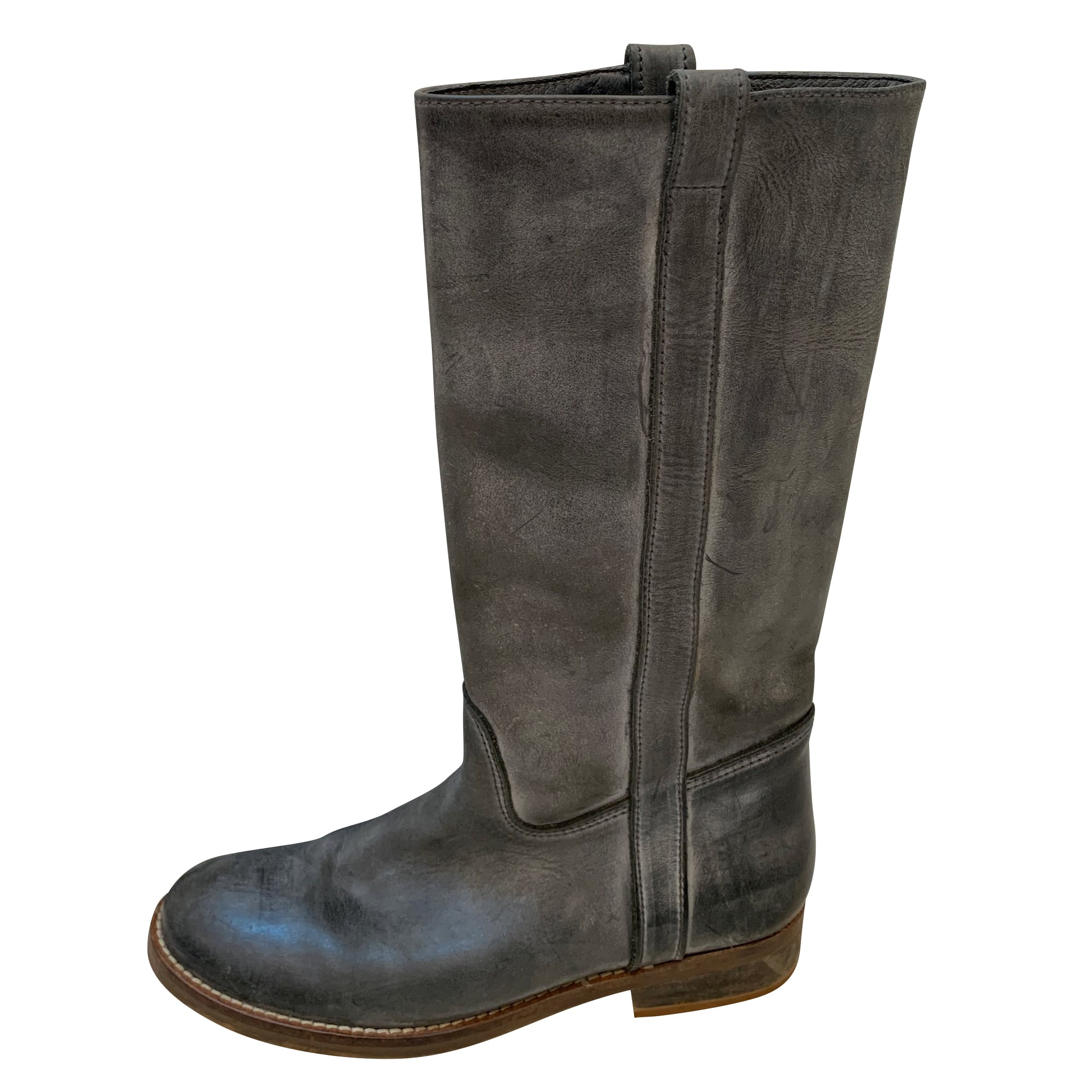 Flat Boots FREE LANCE Blue, navy, turquoise