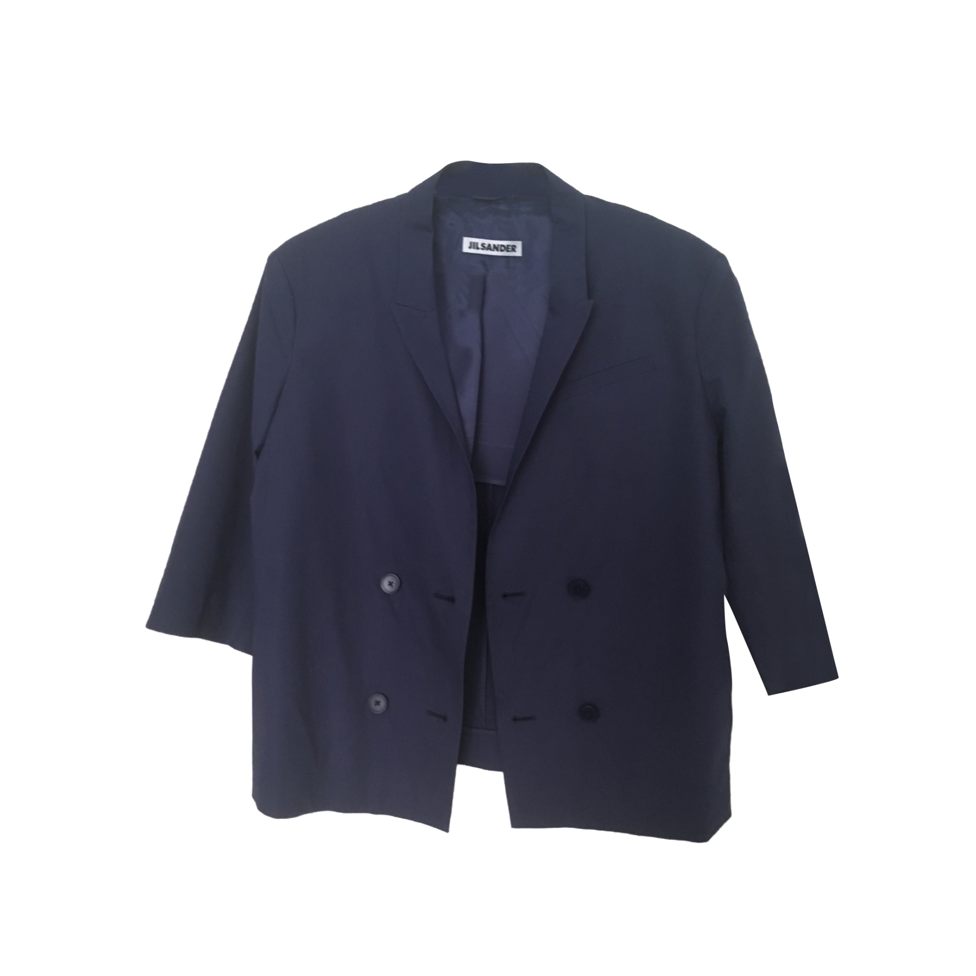 Blazer, veste tailleur JIL SANDER Bleu, bleu marine, bleu turquoise