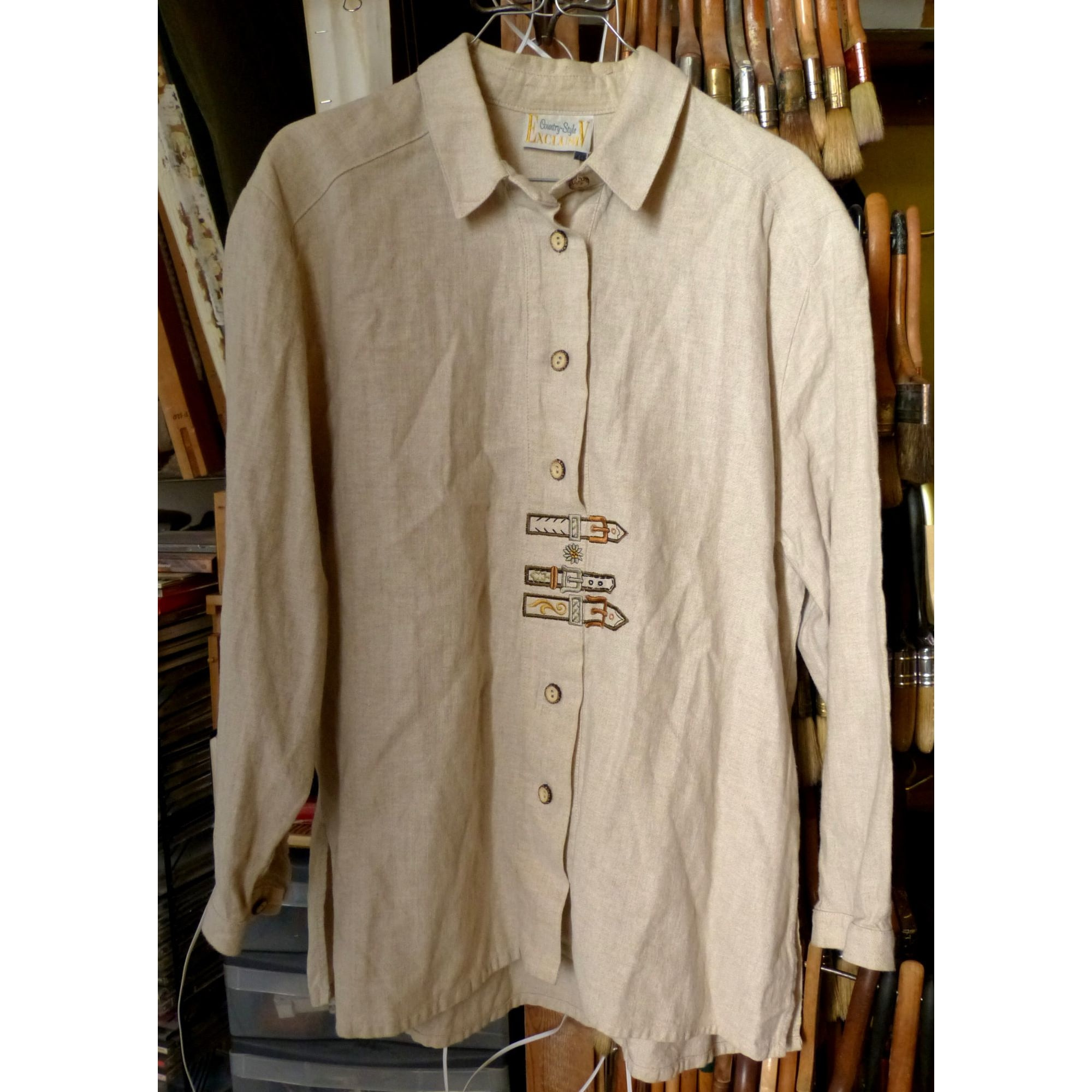 Blouse COUNTRY STYLE EXCLUSIV Beige, camel