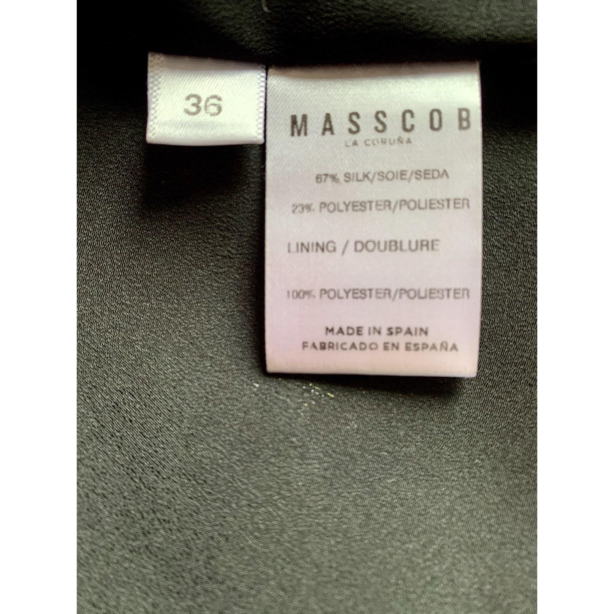 Jupe mi-longue MASSCOB Doré, bronze, cuivre