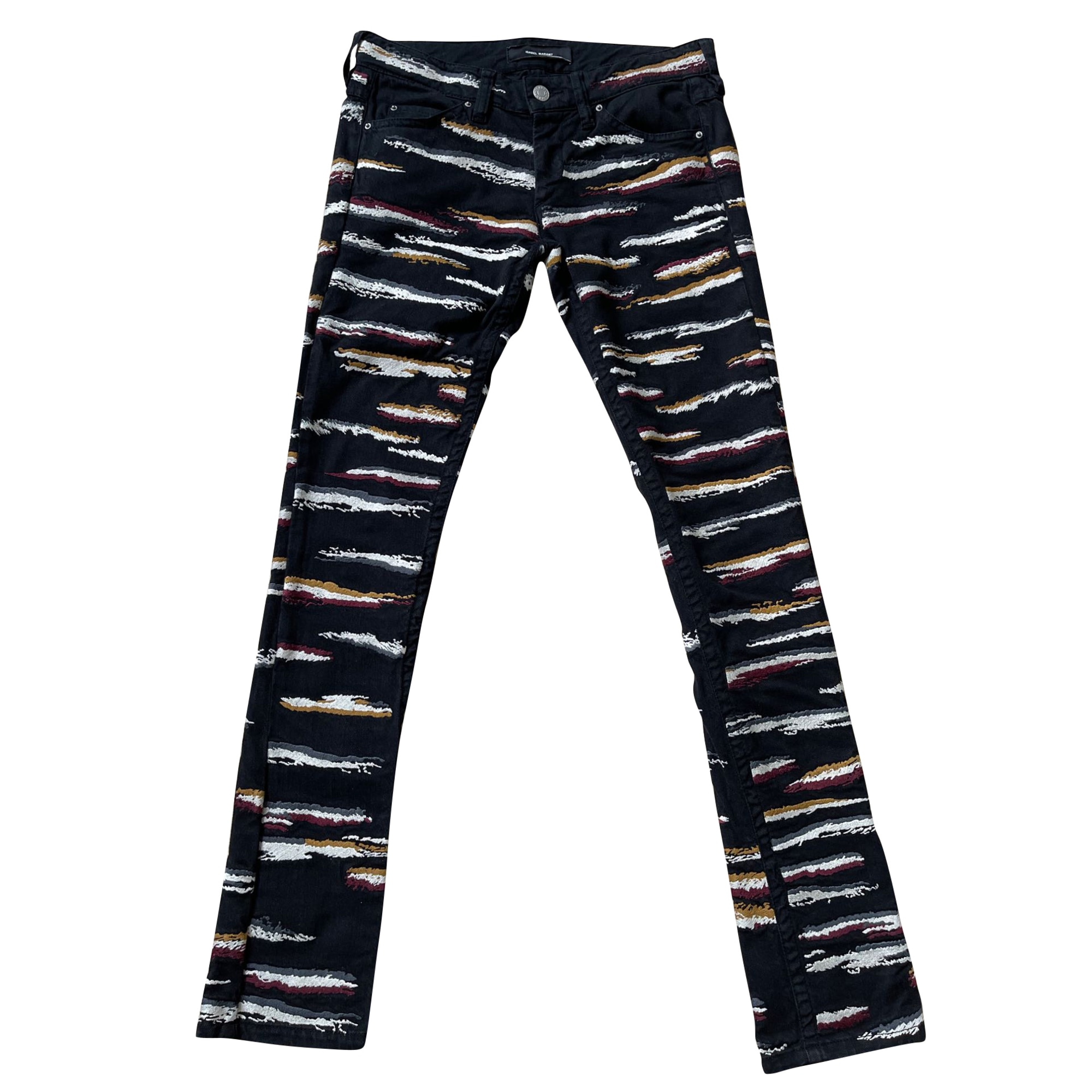 Jeans slim ISABEL MARANT Noir