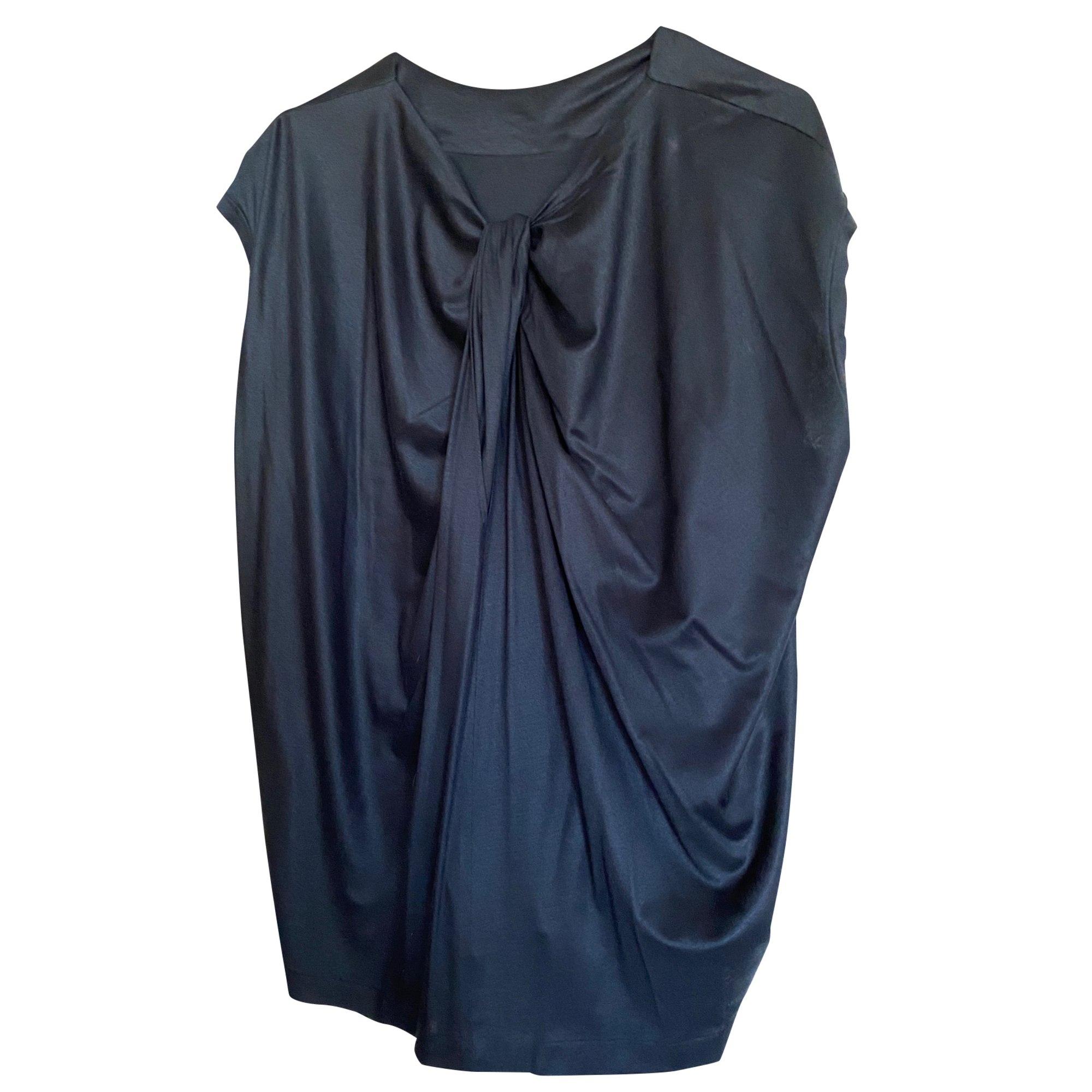 Top, tee-shirt JIL SANDER Bleu, bleu marine, bleu turquoise