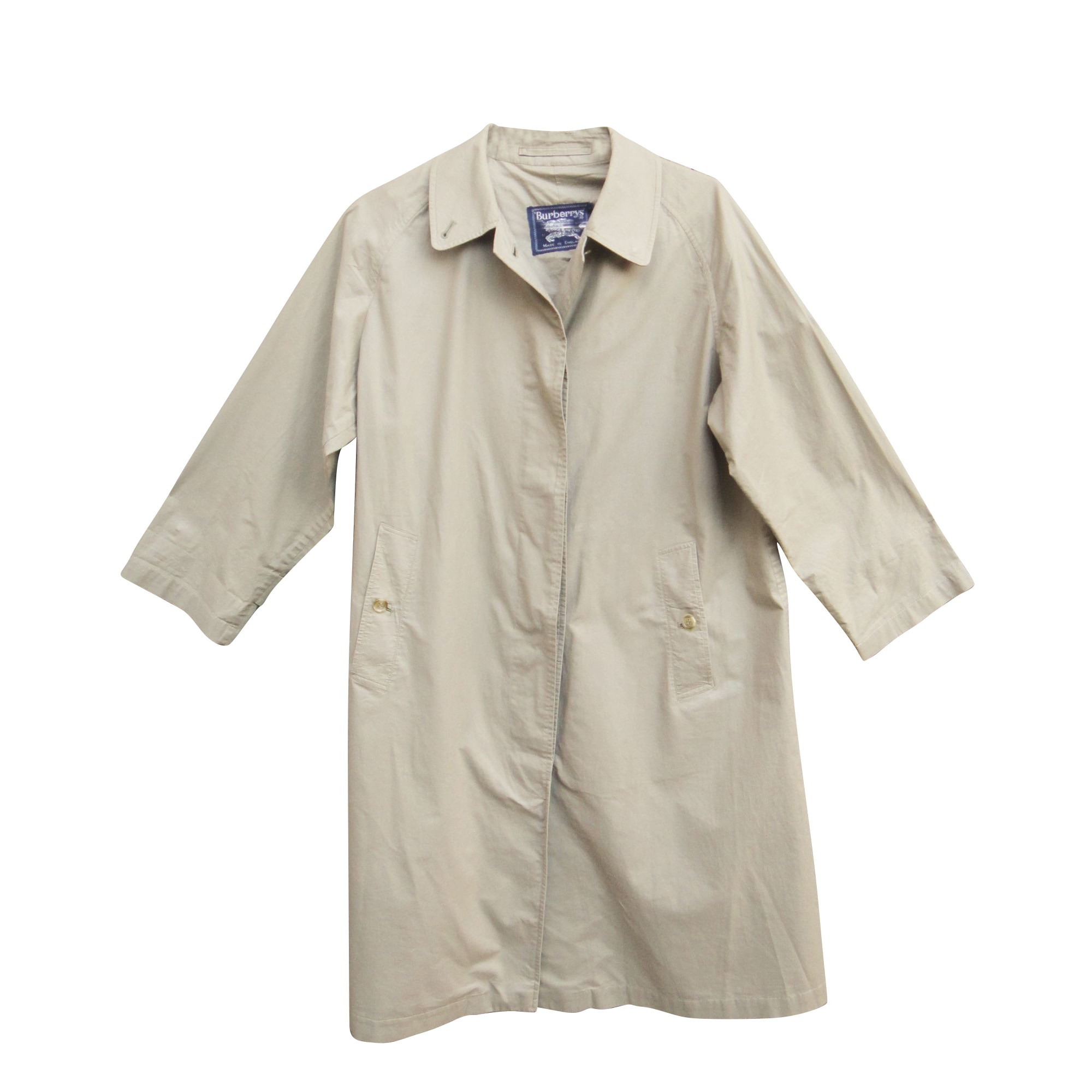 Impermeabile, trench BURBERRY Beige, cammello