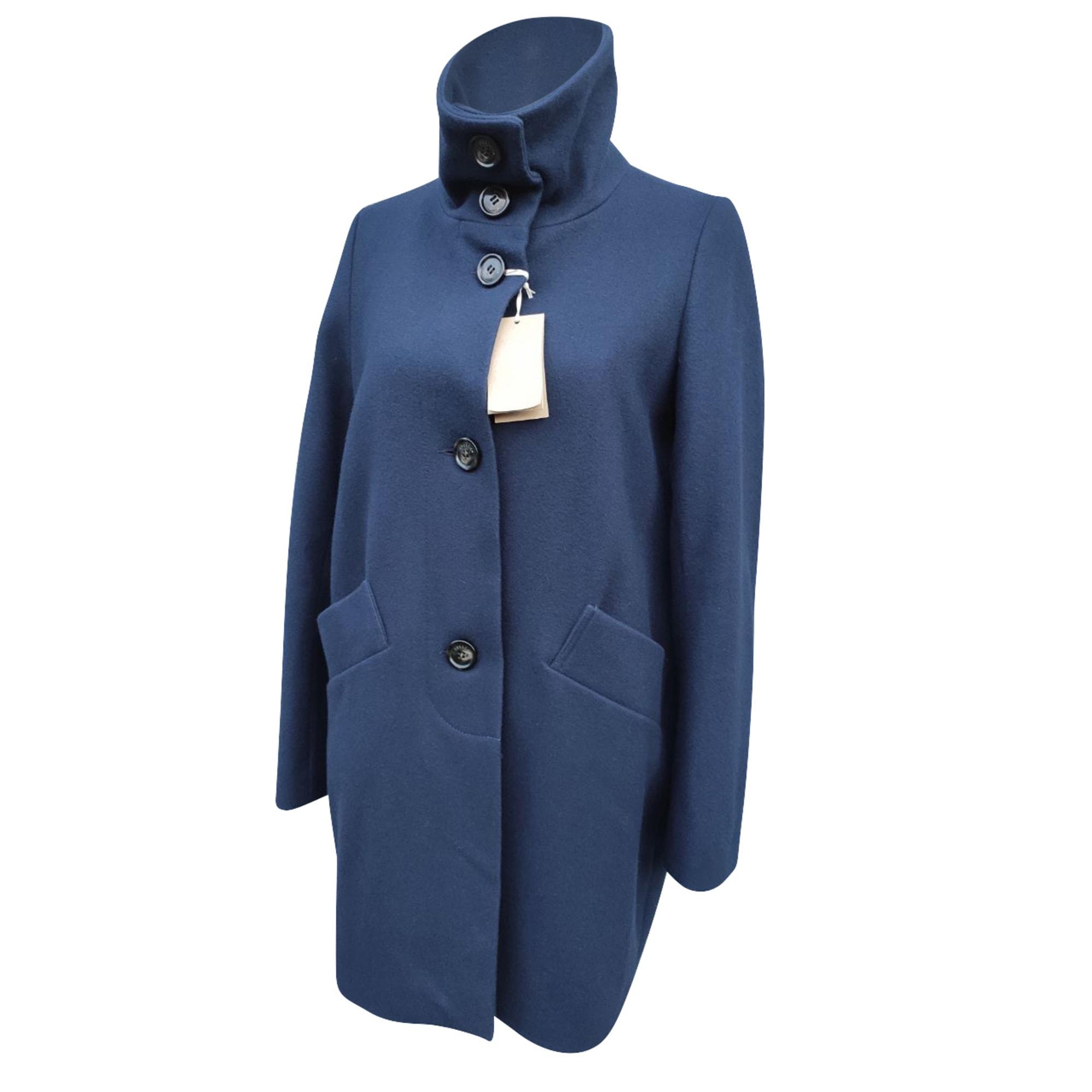 Manteau SESSUN Bleu, bleu marine, bleu turquoise