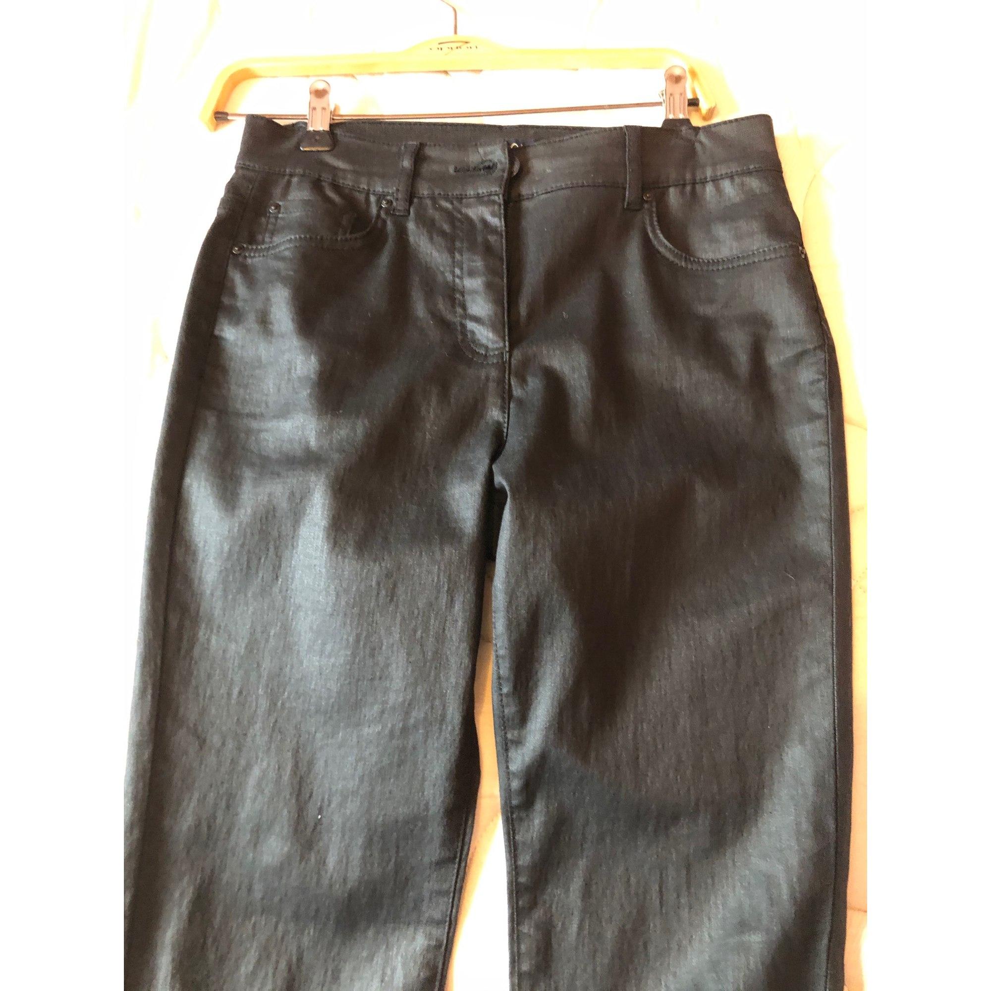 Jeans droit CAROLL Noir