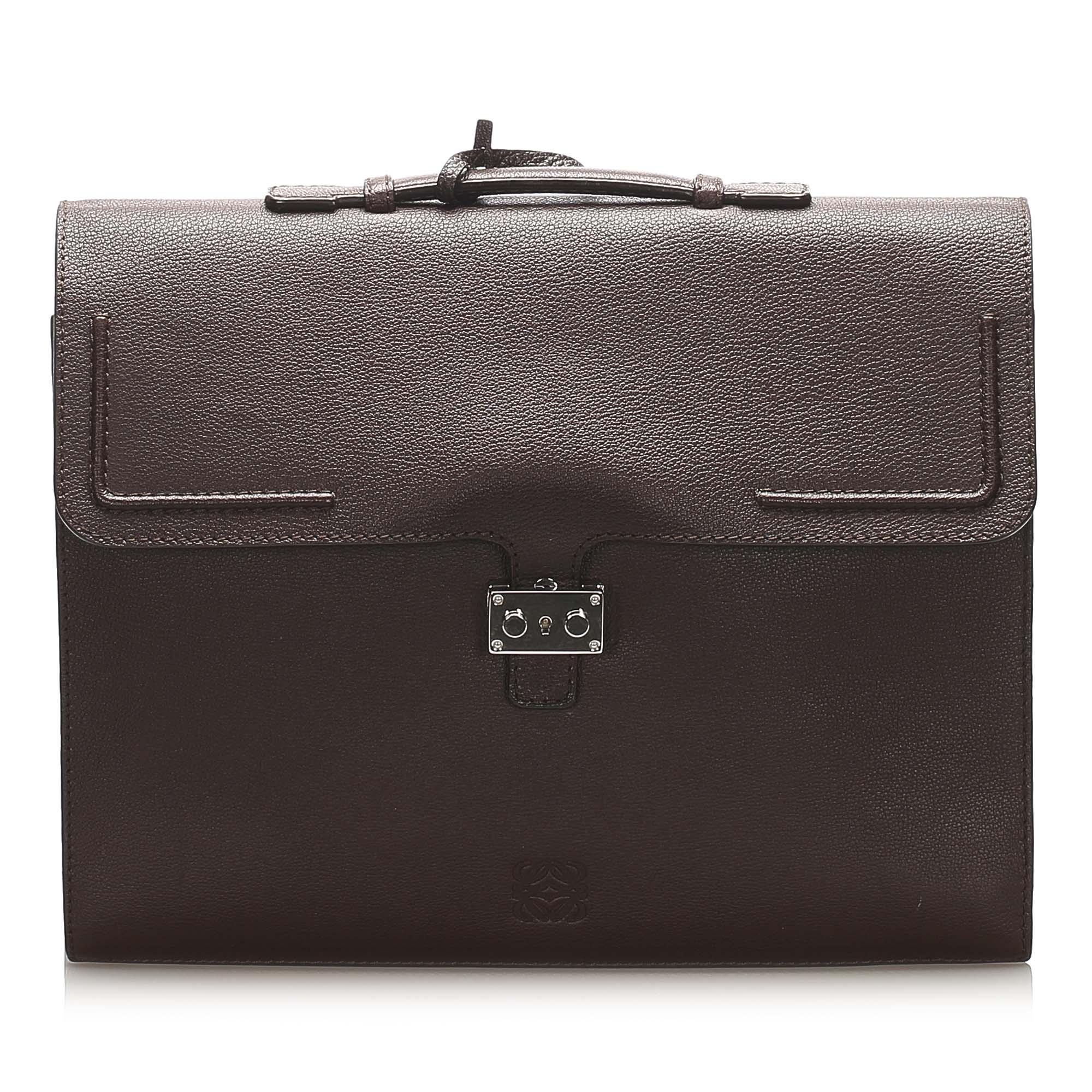 Porte documents, serviette LOEWE Brown