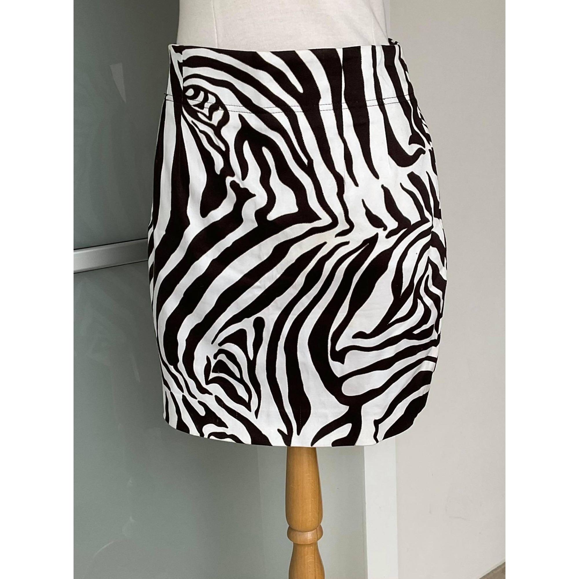 Jupe mi-longue CAROLINE BISS Imprimés animaliers