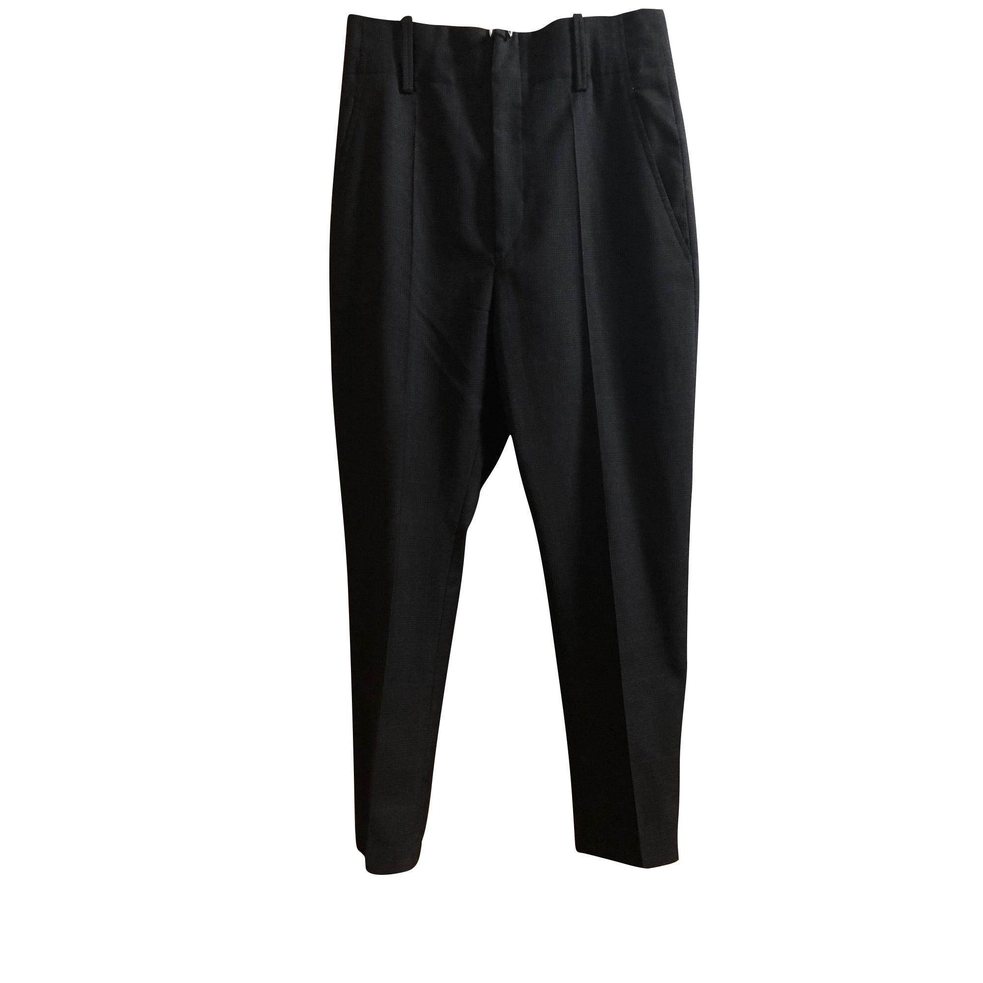 Pantalon slim, cigarette ISABEL MARANT ETOILE Noir