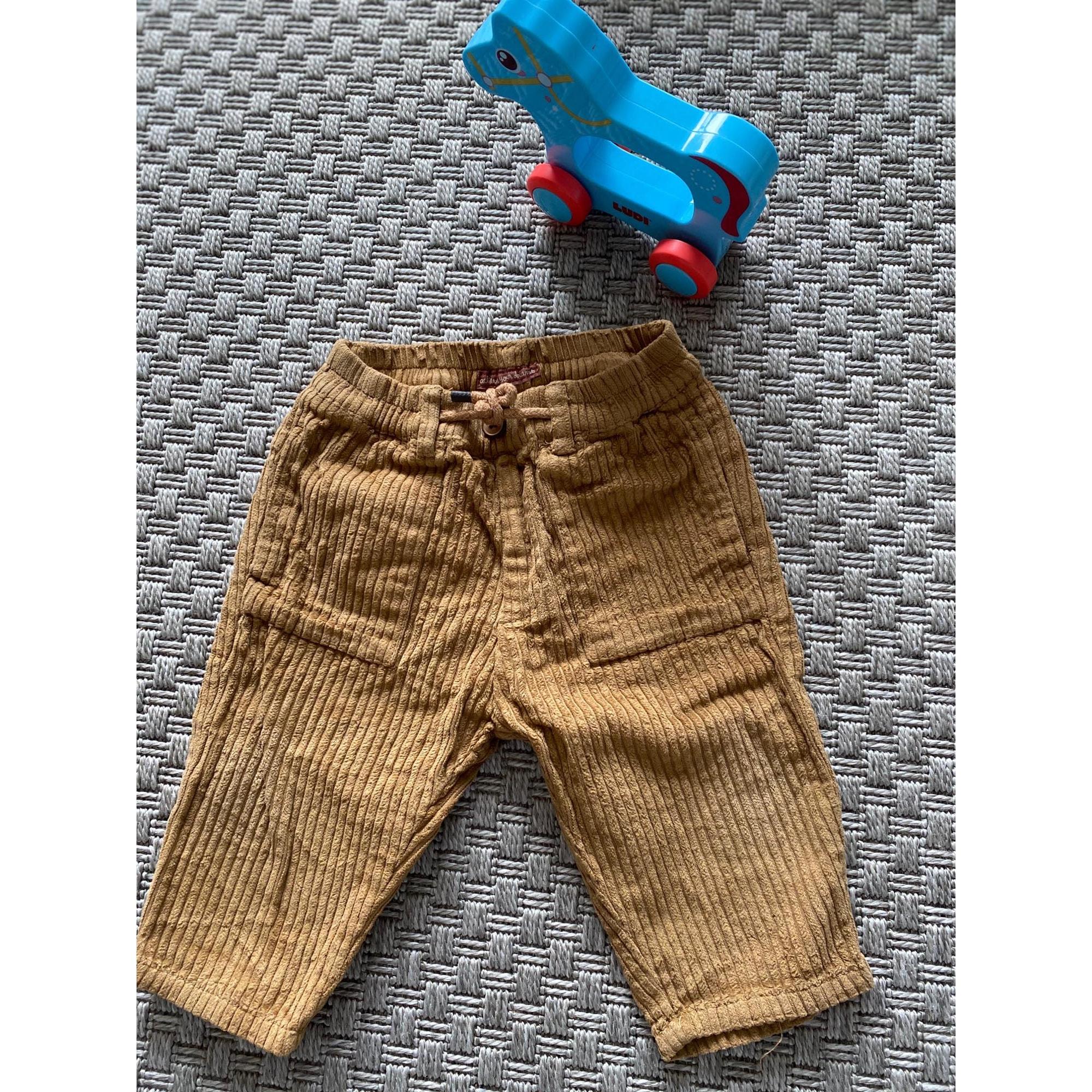 Pantalon ZARA Marron