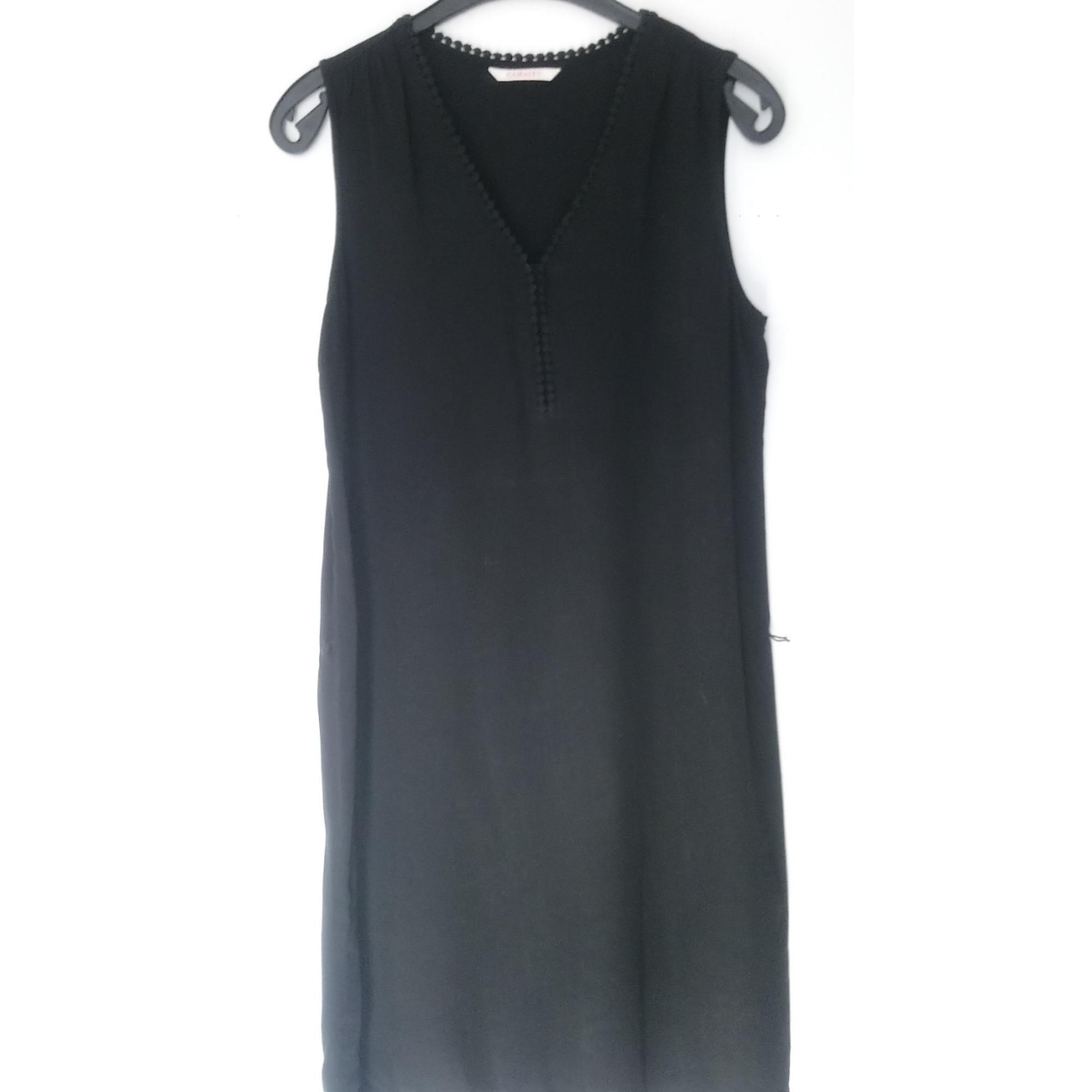 Robe courte CAMAIEU Noir