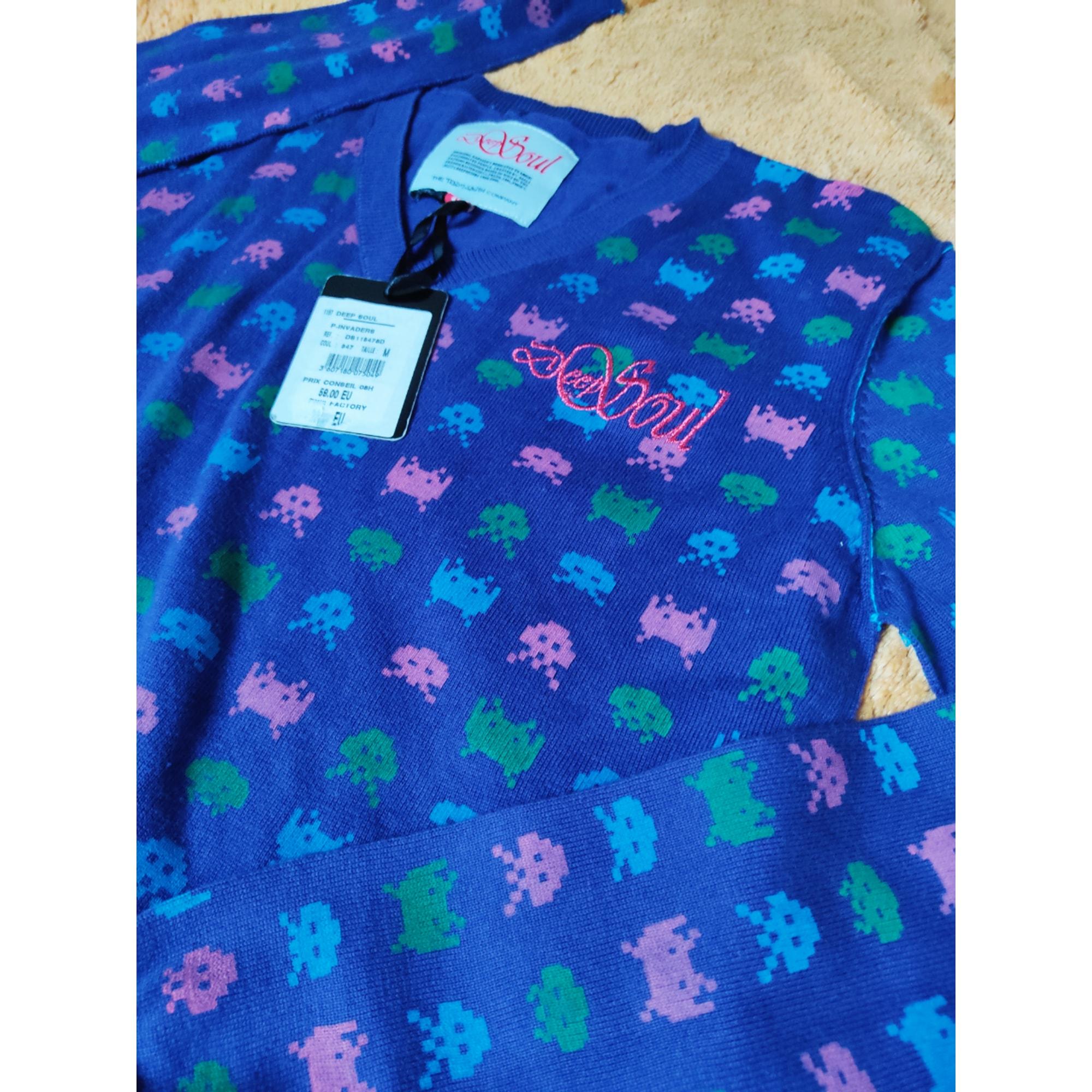 Pull TEDDY SMITH Bleu, bleu marine, bleu turquoise