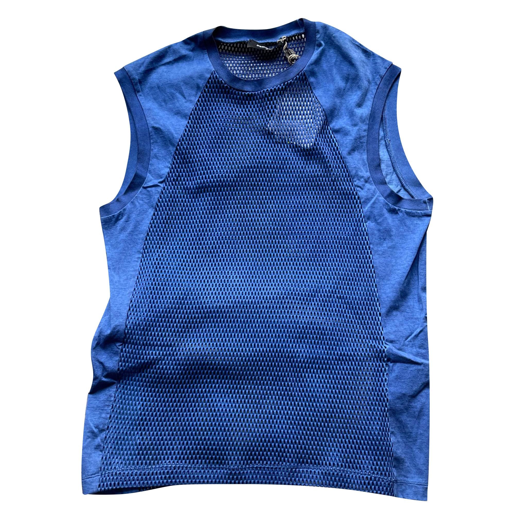 Tee-shirt DSQUARED2 Bleu, bleu marine, bleu turquoise
