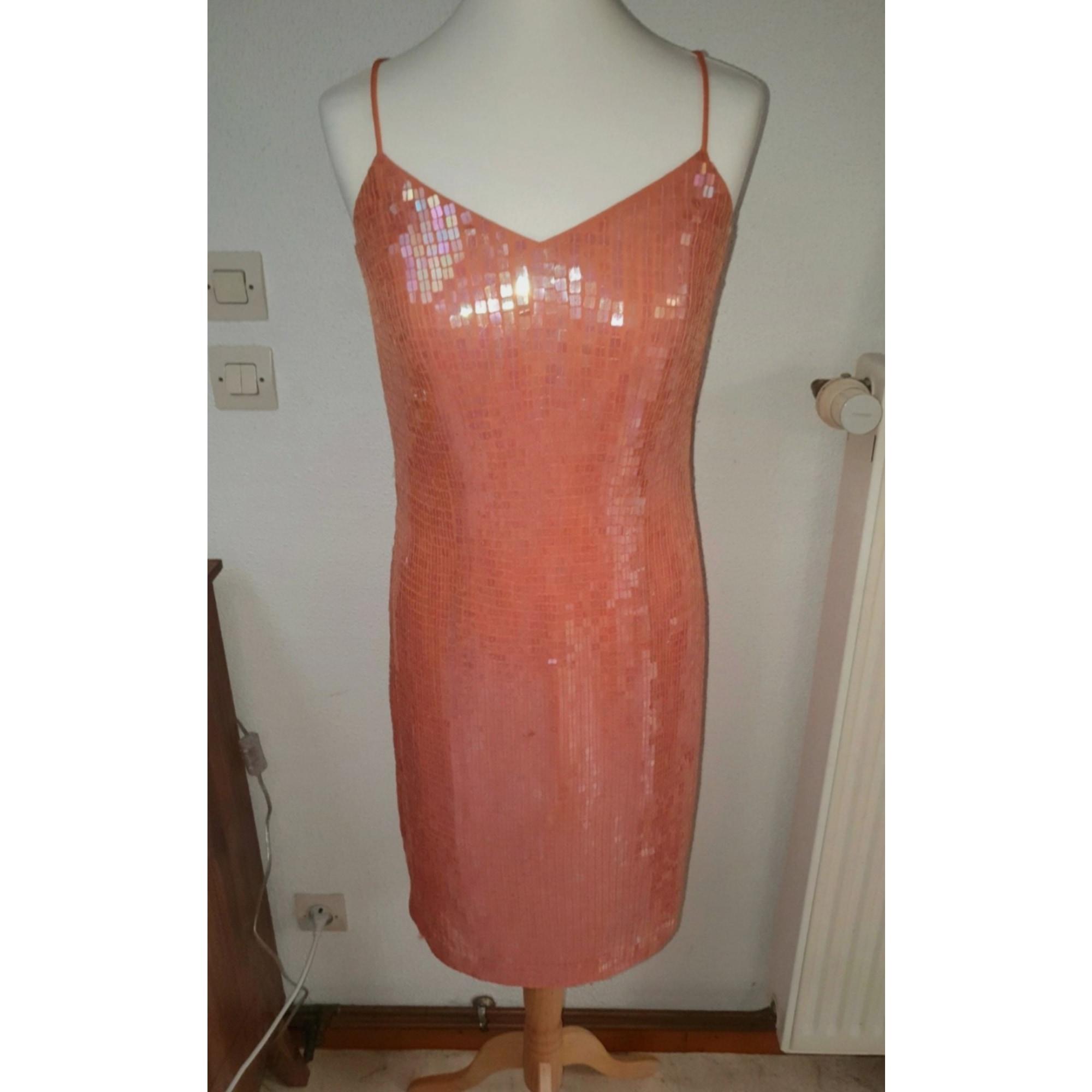 Robe courte ASHLEY BROOKE Orange