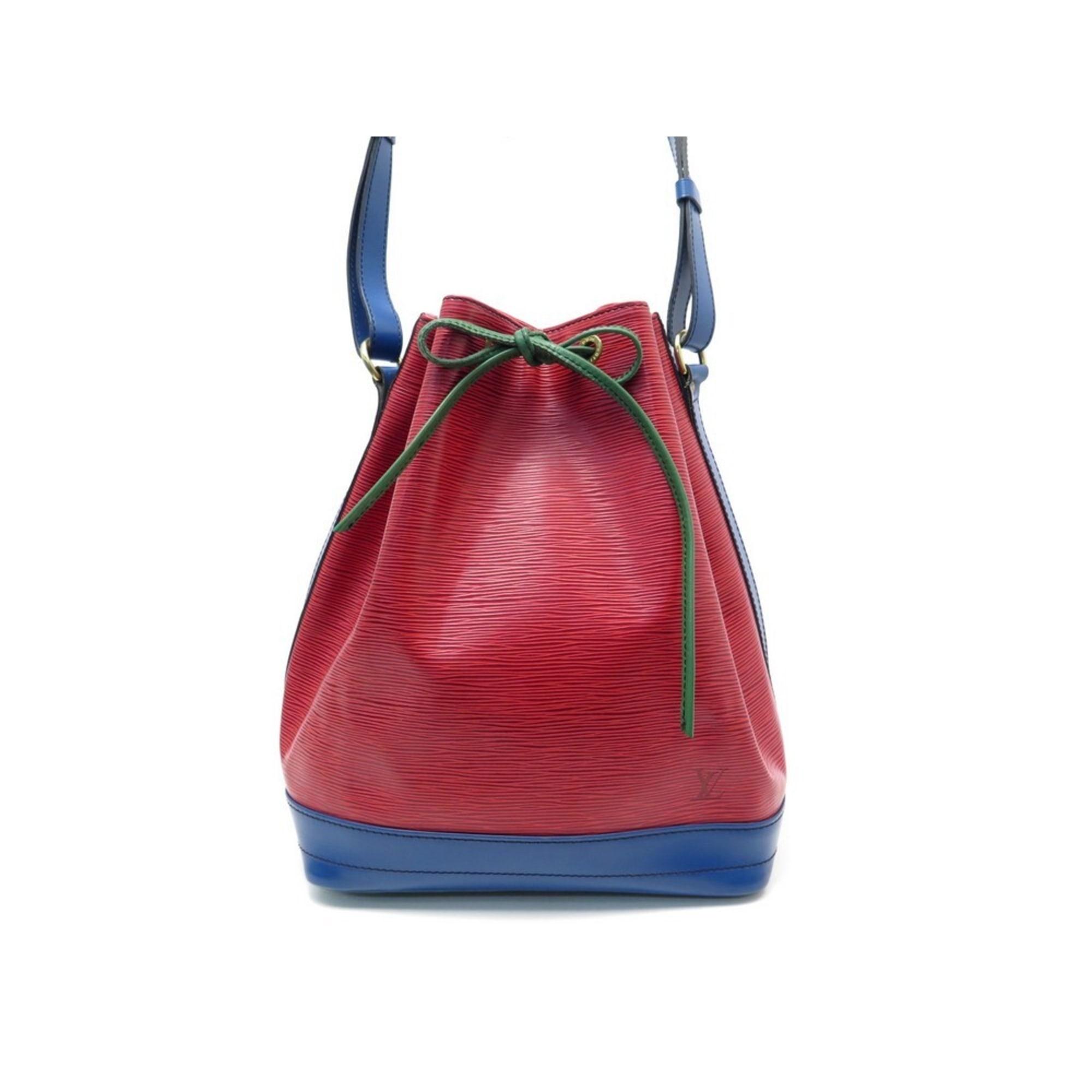 Lederhandtasche LOUIS VUITTON tricolore