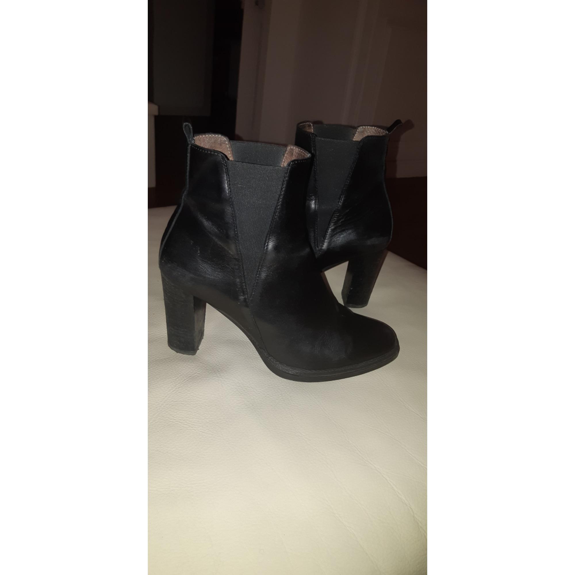 Bottines & low boots à talons WONDERS Noir