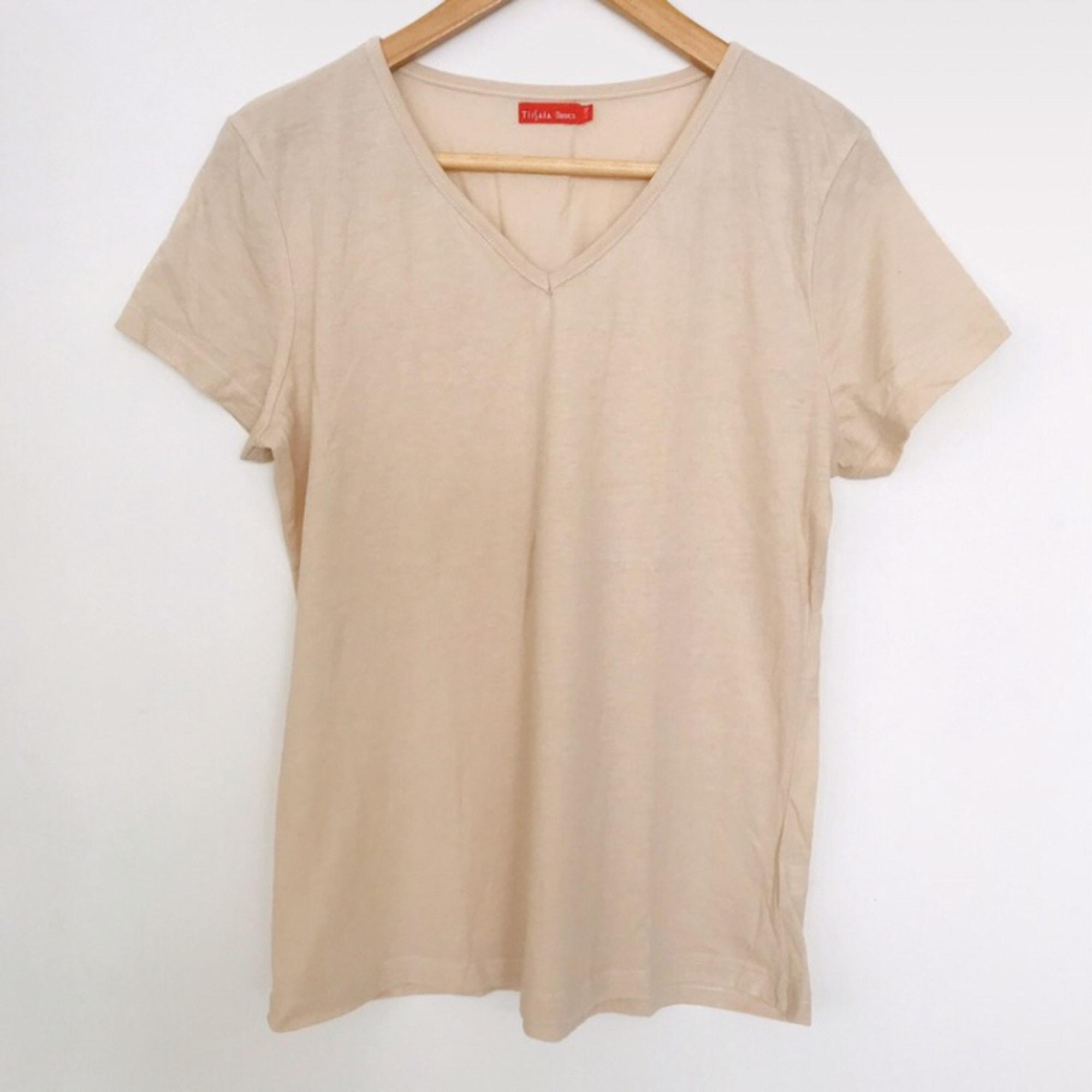 Top, tee-shirt TISSAIA Beige, camel