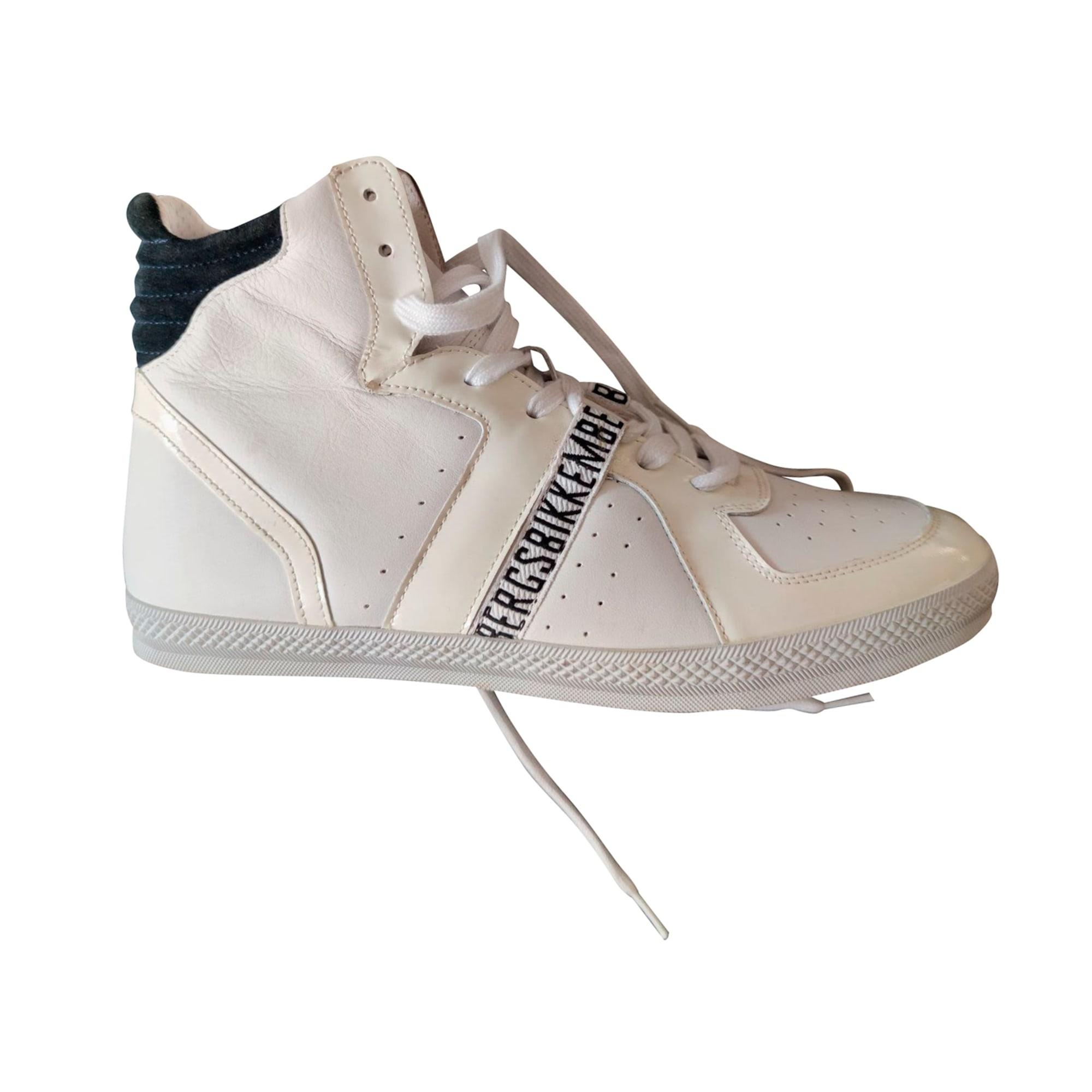 Baskets DIRK BIKKEMBERGS Blanc, blanc cassé, écru