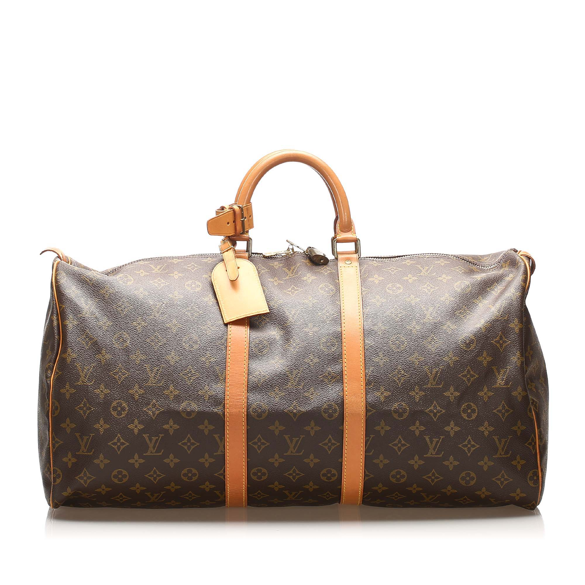 Sac XL en cuir LOUIS VUITTON Brown
