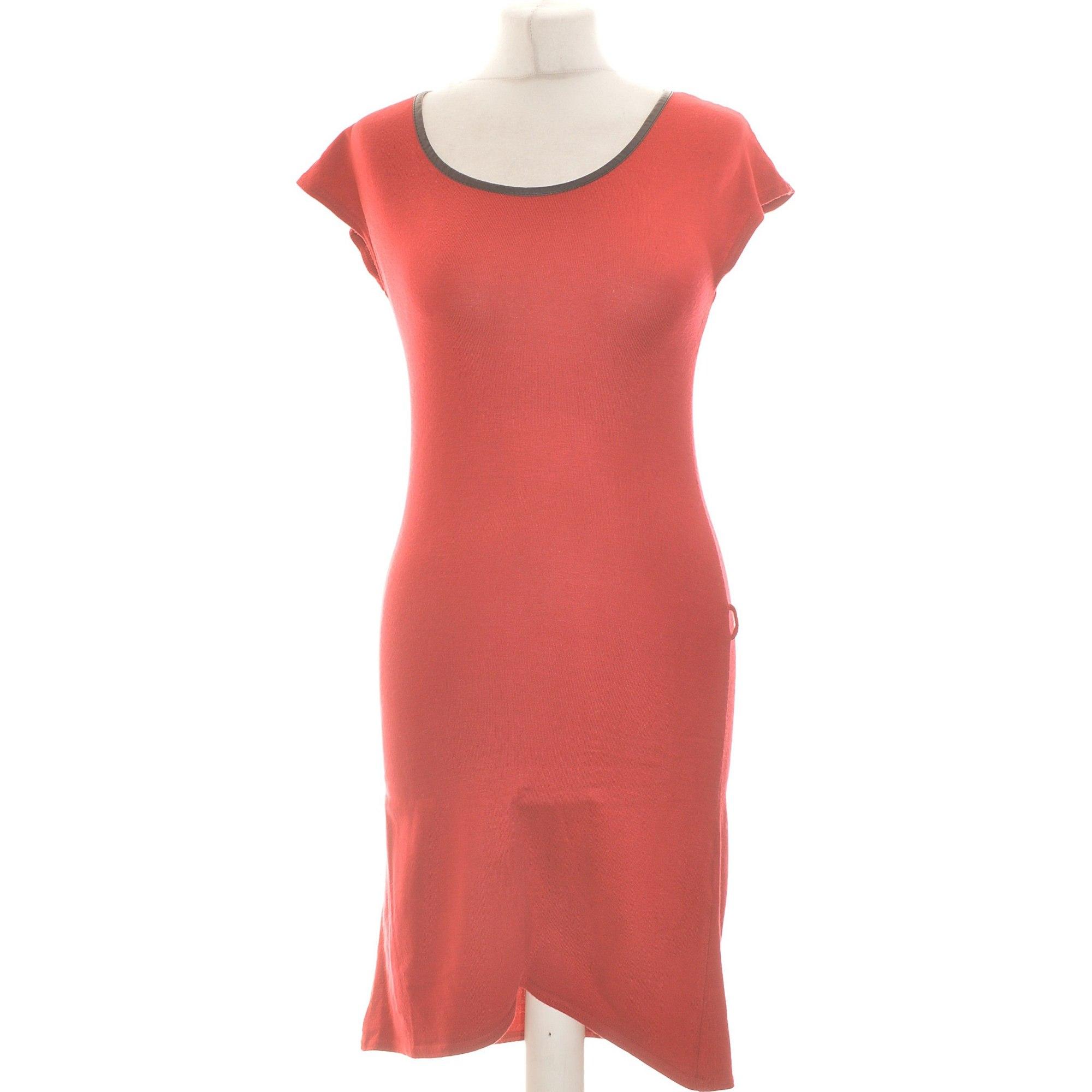 Robe courte CACHE CACHE Rouge, bordeaux