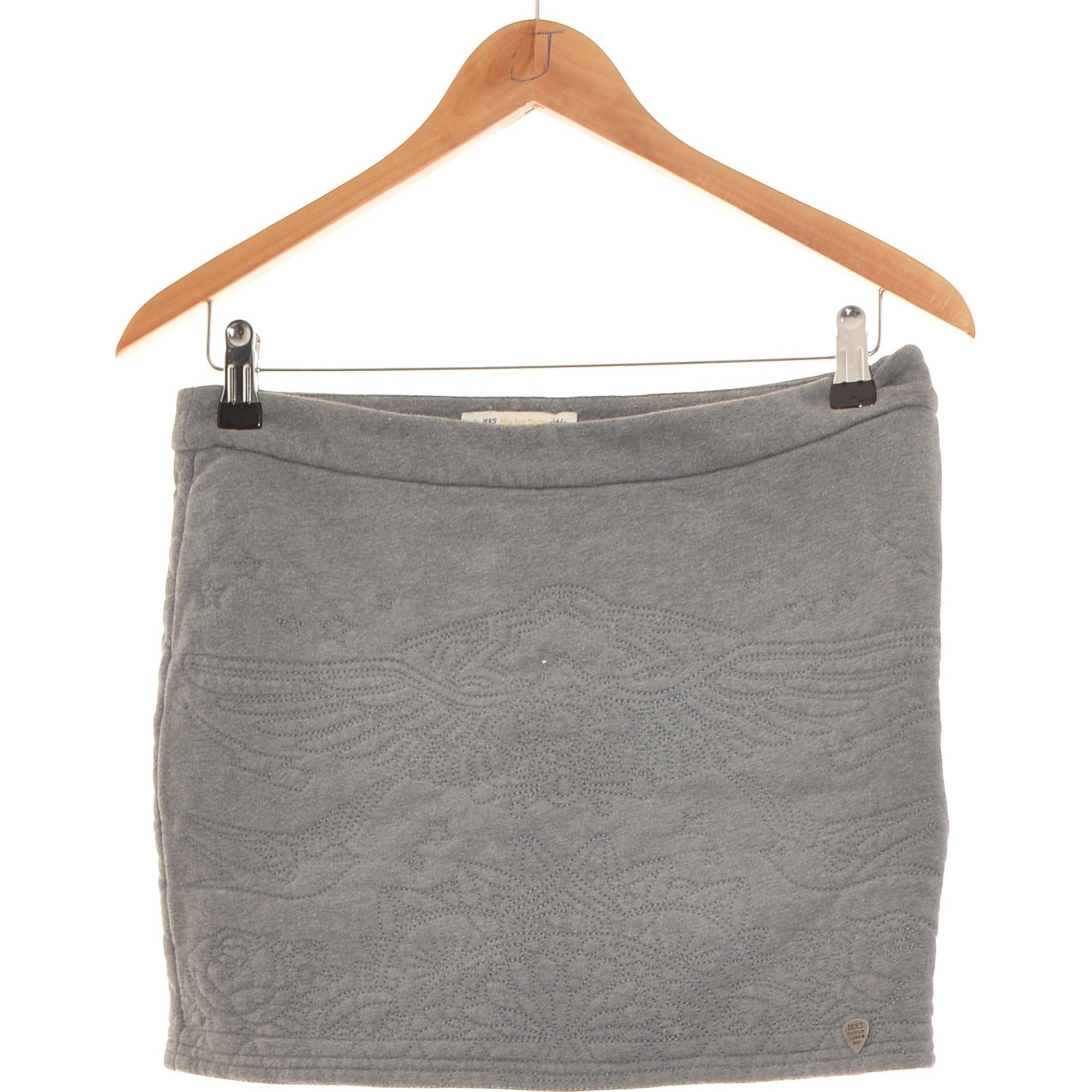 Jupe courte IKKS Gris, anthracite