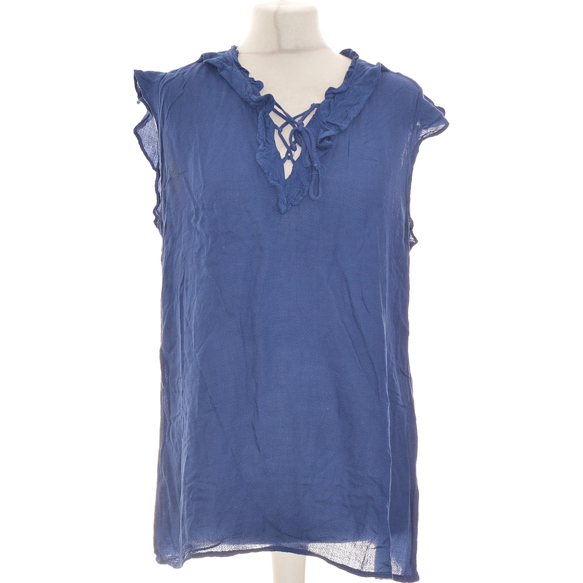 Blouse PROMOD Bleu, bleu marine, bleu turquoise