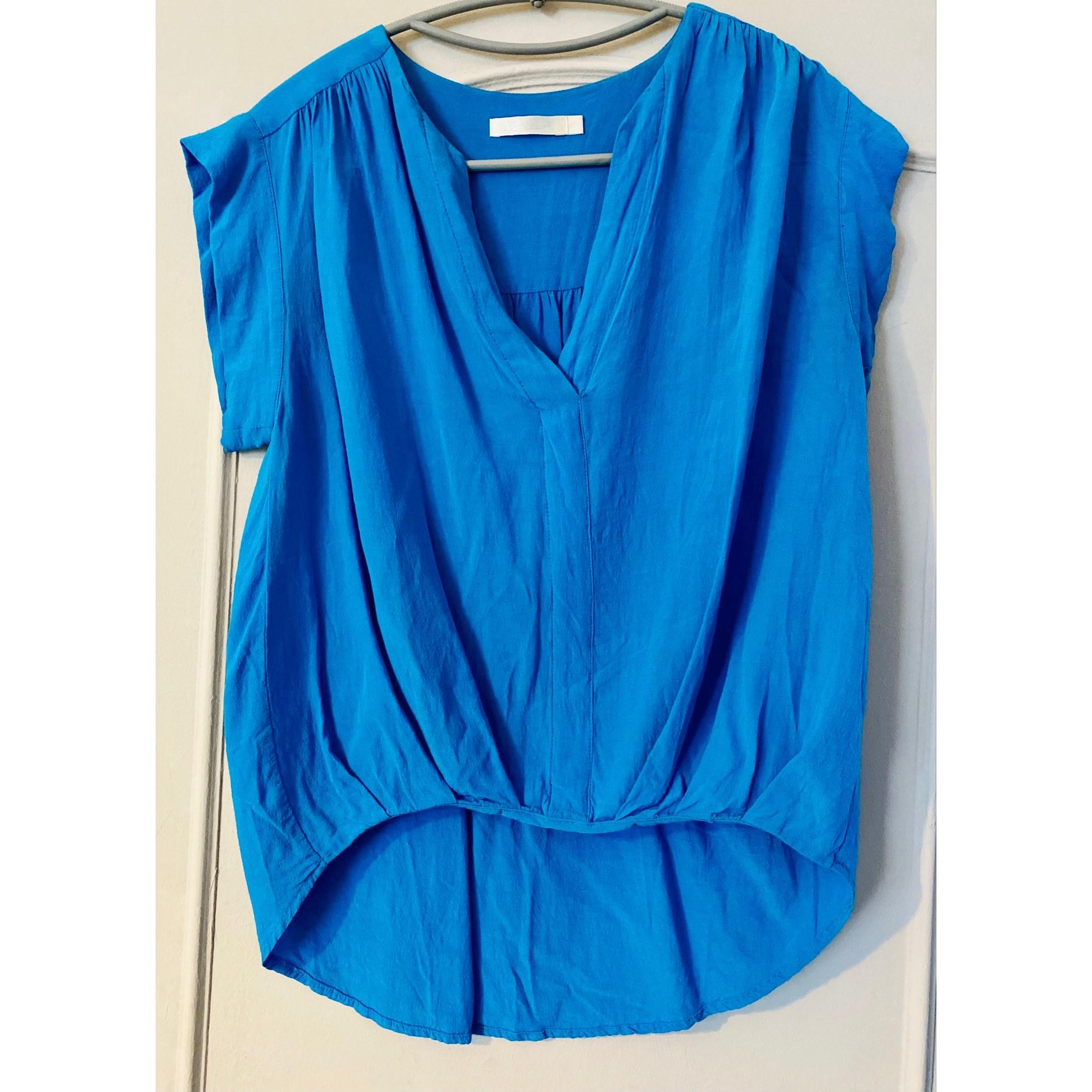 Blouse SEE U SOON Bleu, bleu marine, bleu turquoise