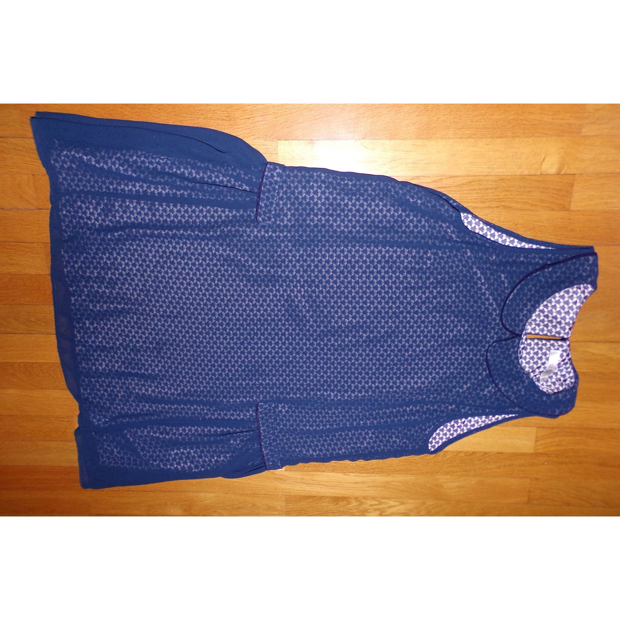 Robe courte GRACE & MILA Bleu, bleu marine, bleu turquoise