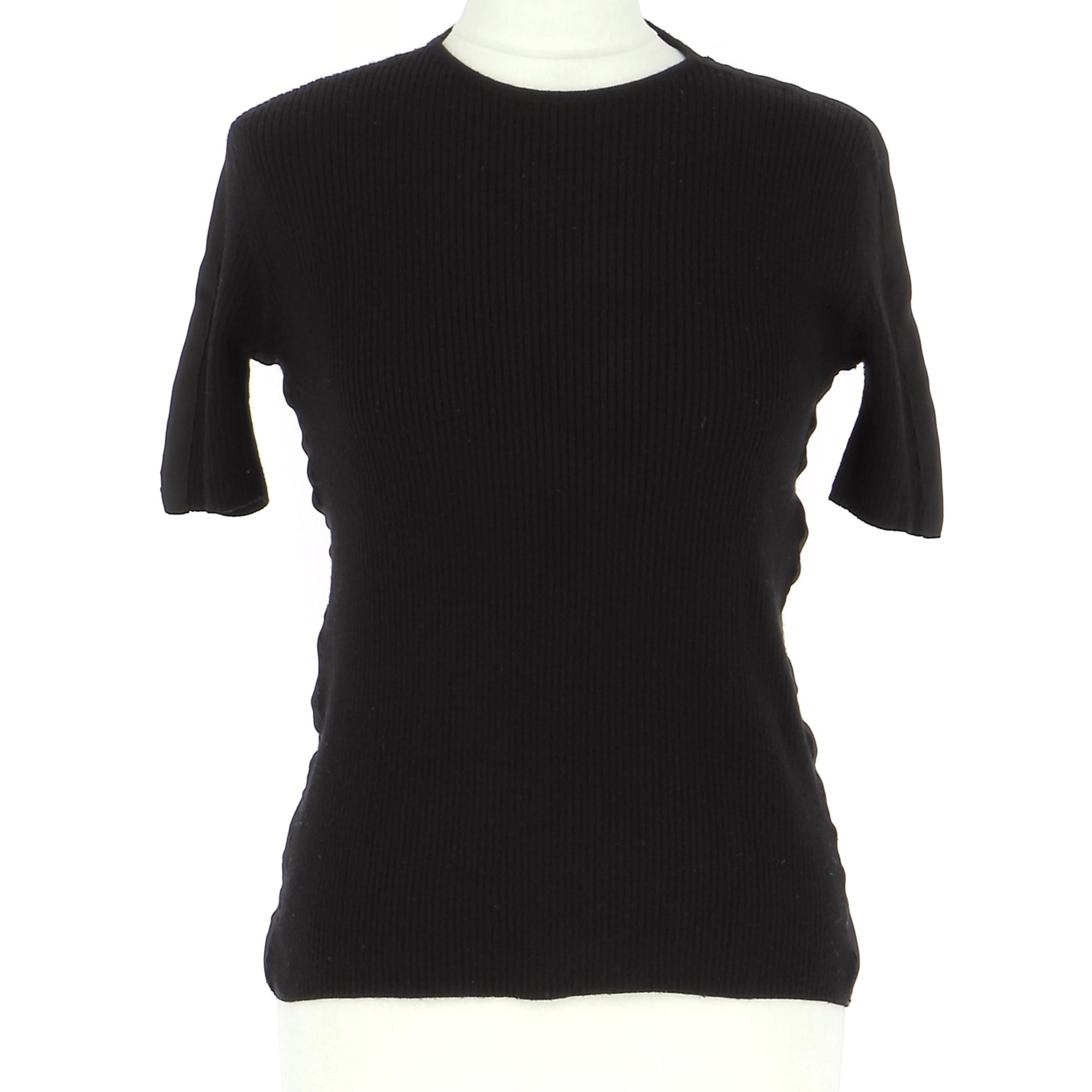 Top, T-shirt ALAIN MANOUKIAN Black