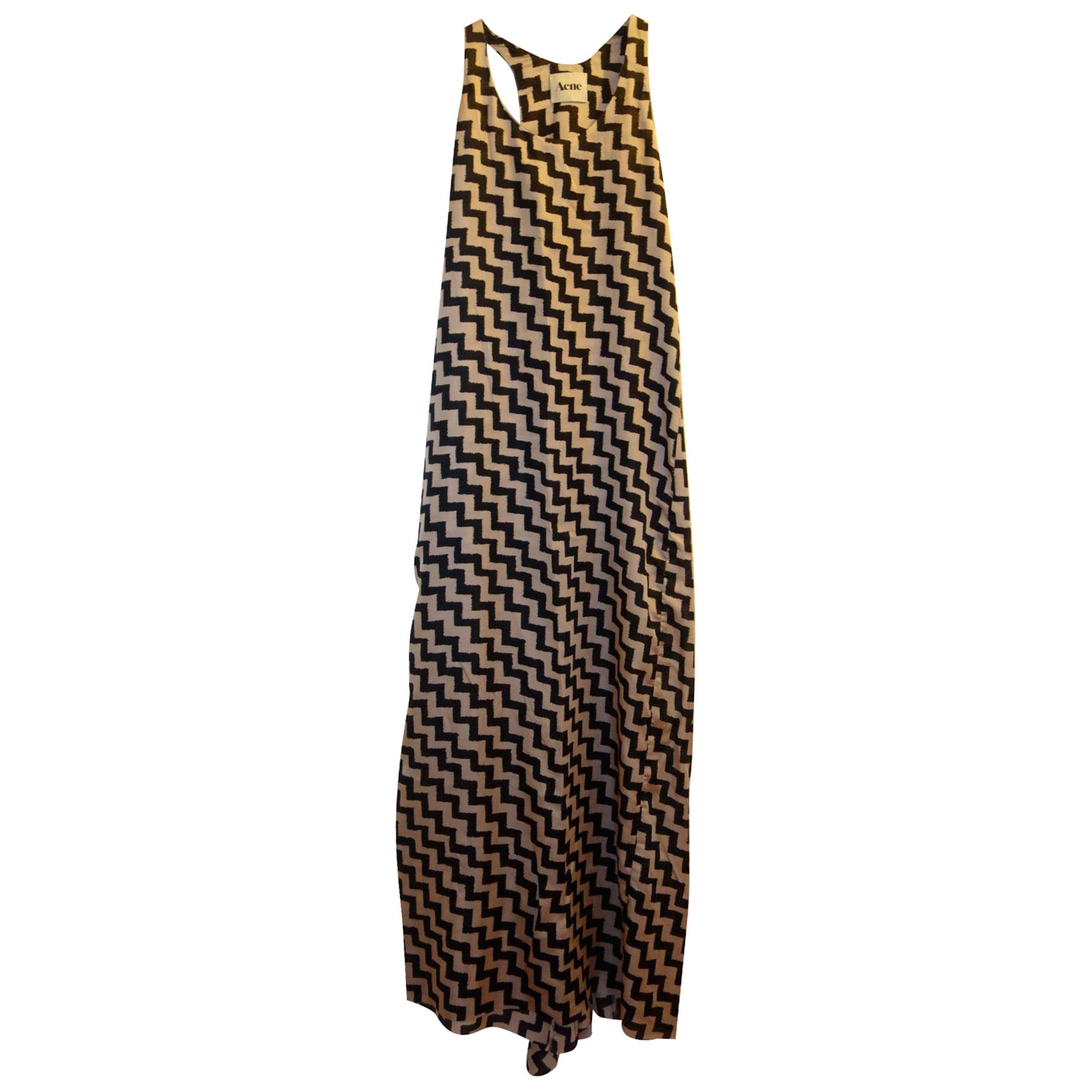 Robe longue ACNE Multicouleur