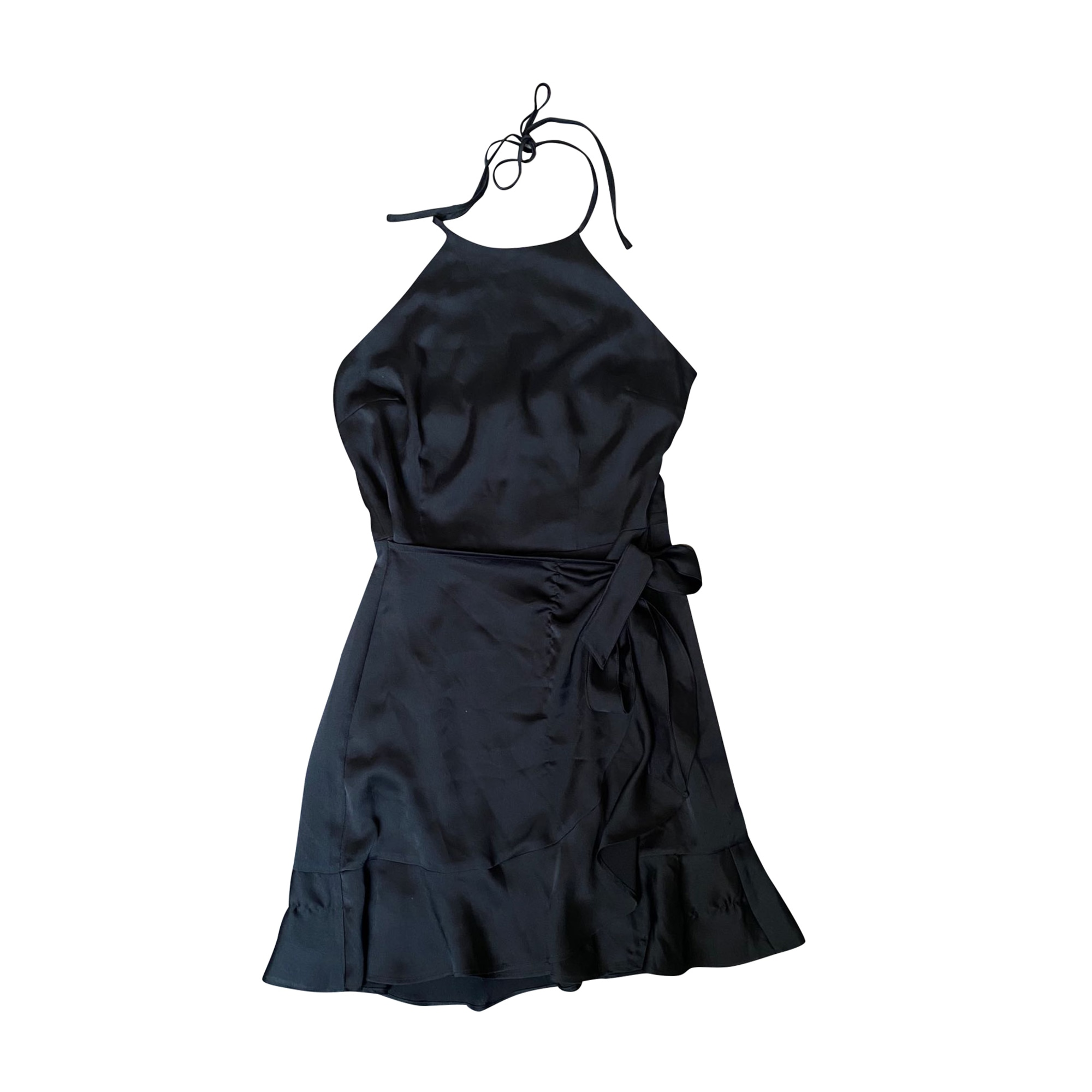 Robe courte ABERCROMBIE & FITCH Noir