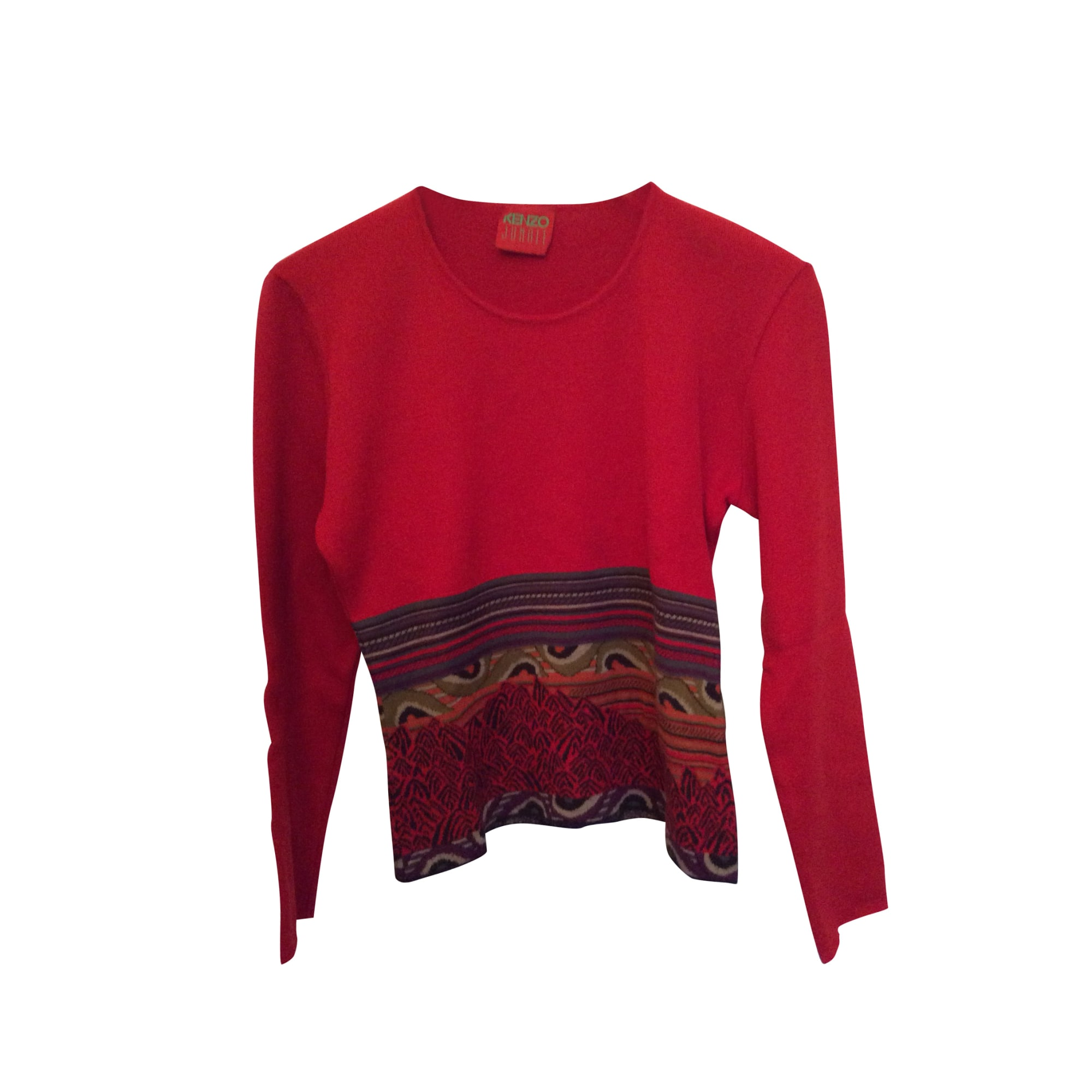 Pull KENZO Rouge, bordeaux