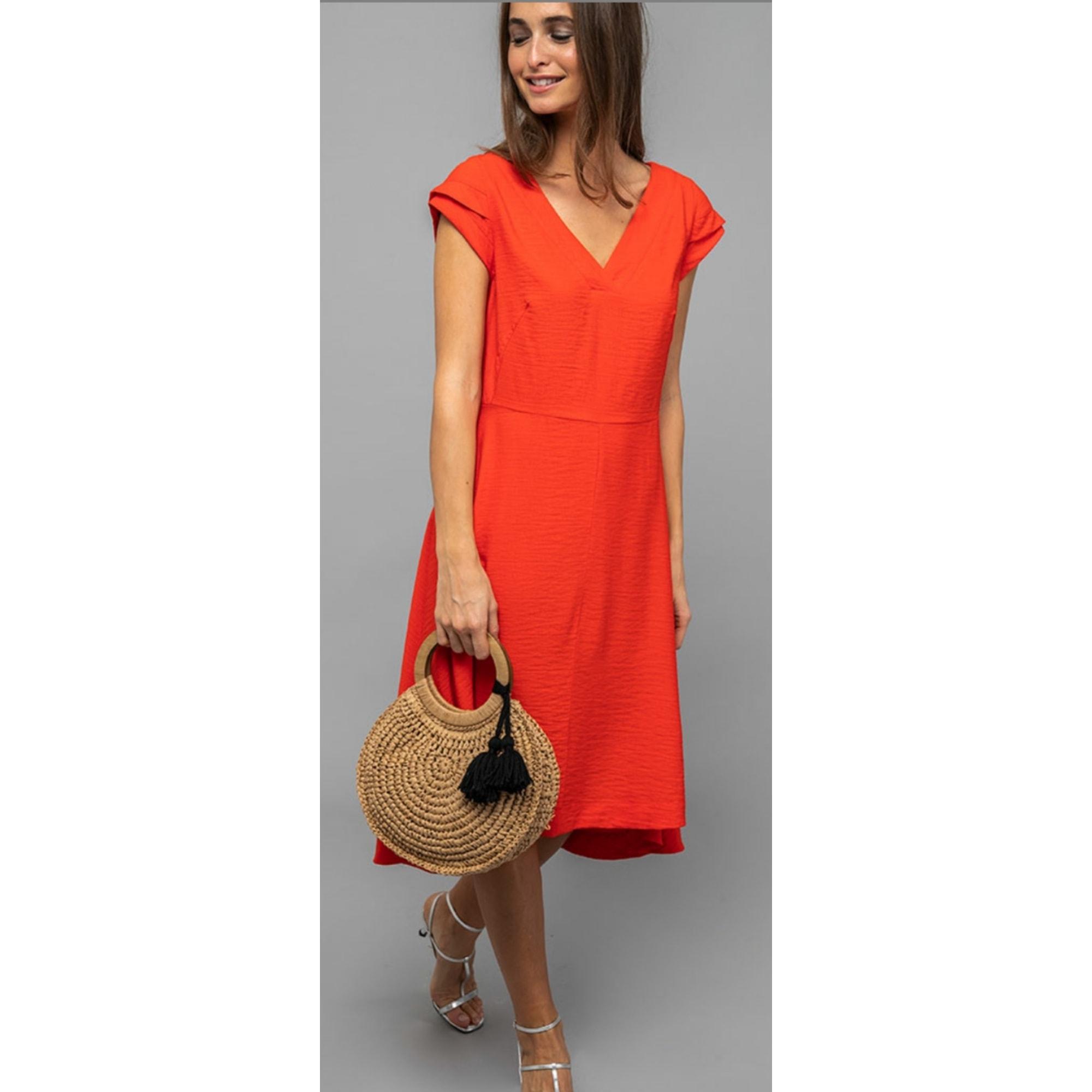 Robe longue CAPTAIN TORTUE Orange