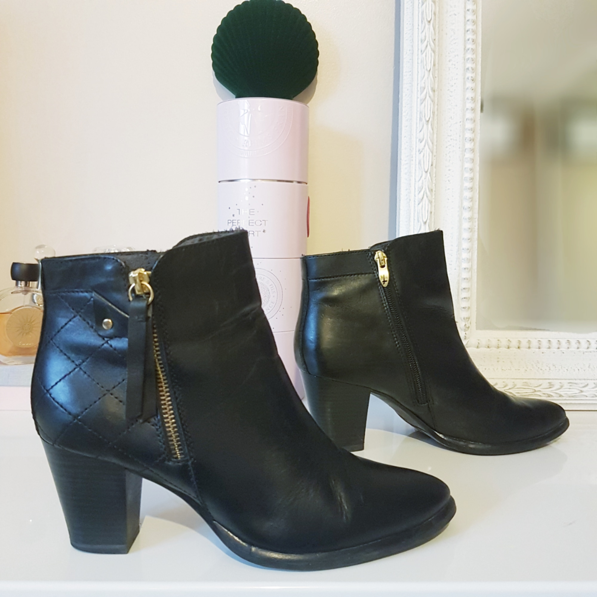 Bottines & low boots à talons TAMARIS Noir