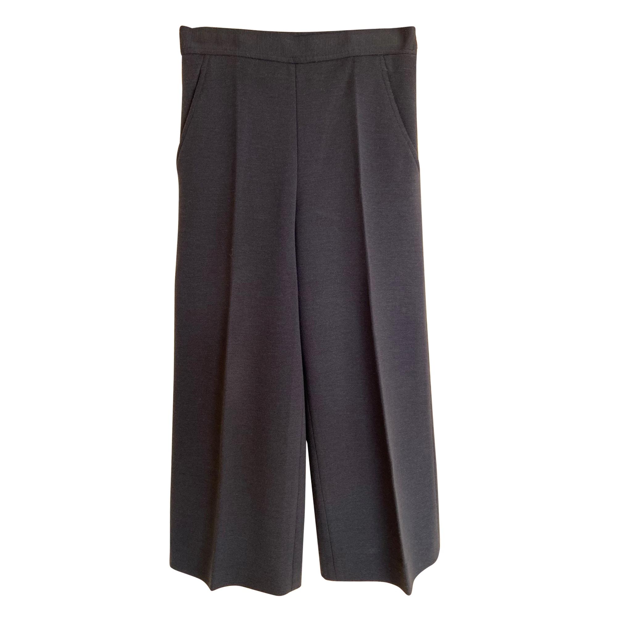 Pantalon large M MISSONI Bleu, bleu marine, bleu turquoise