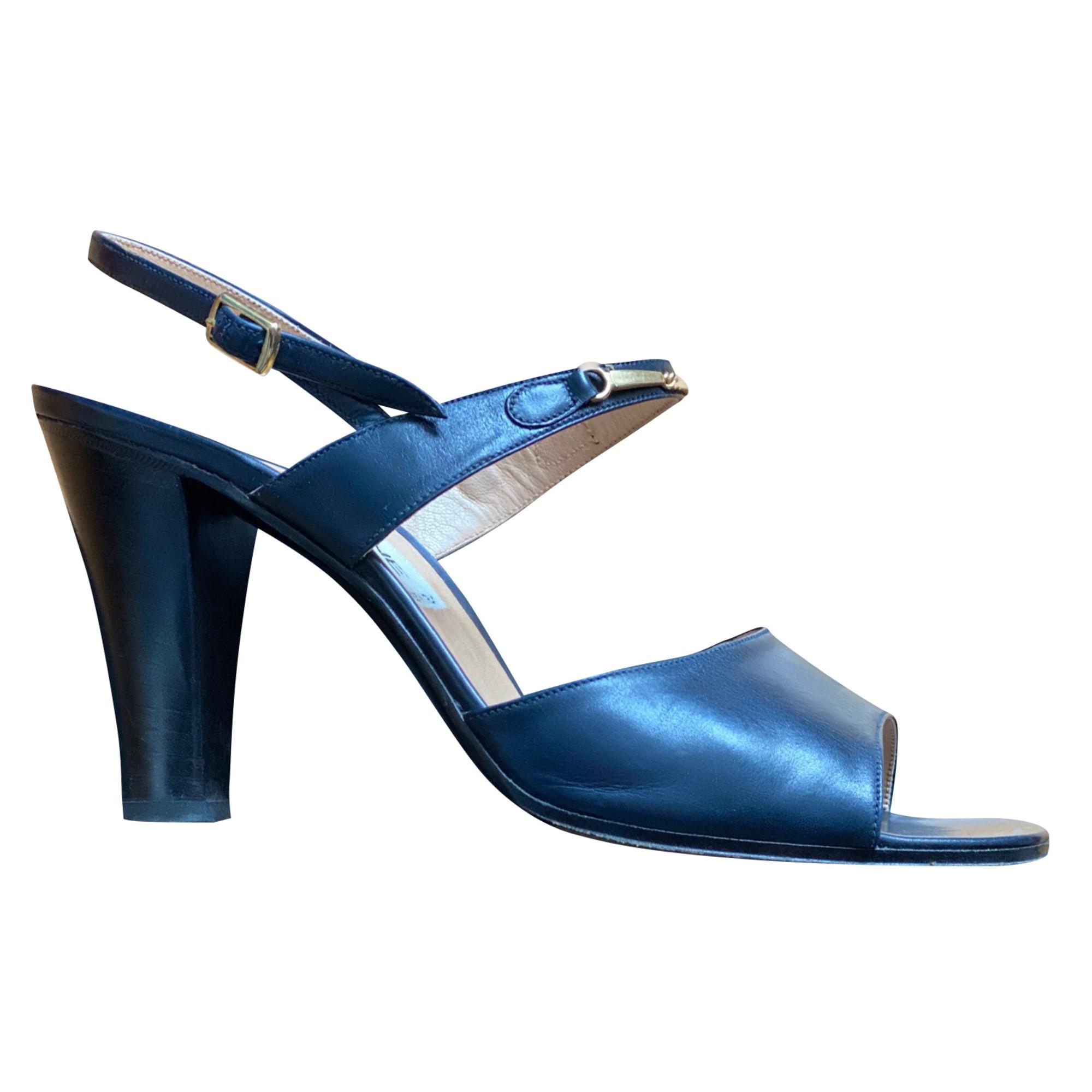 Absatzsandalette CÉLINE Blau, marineblau, türkisblau