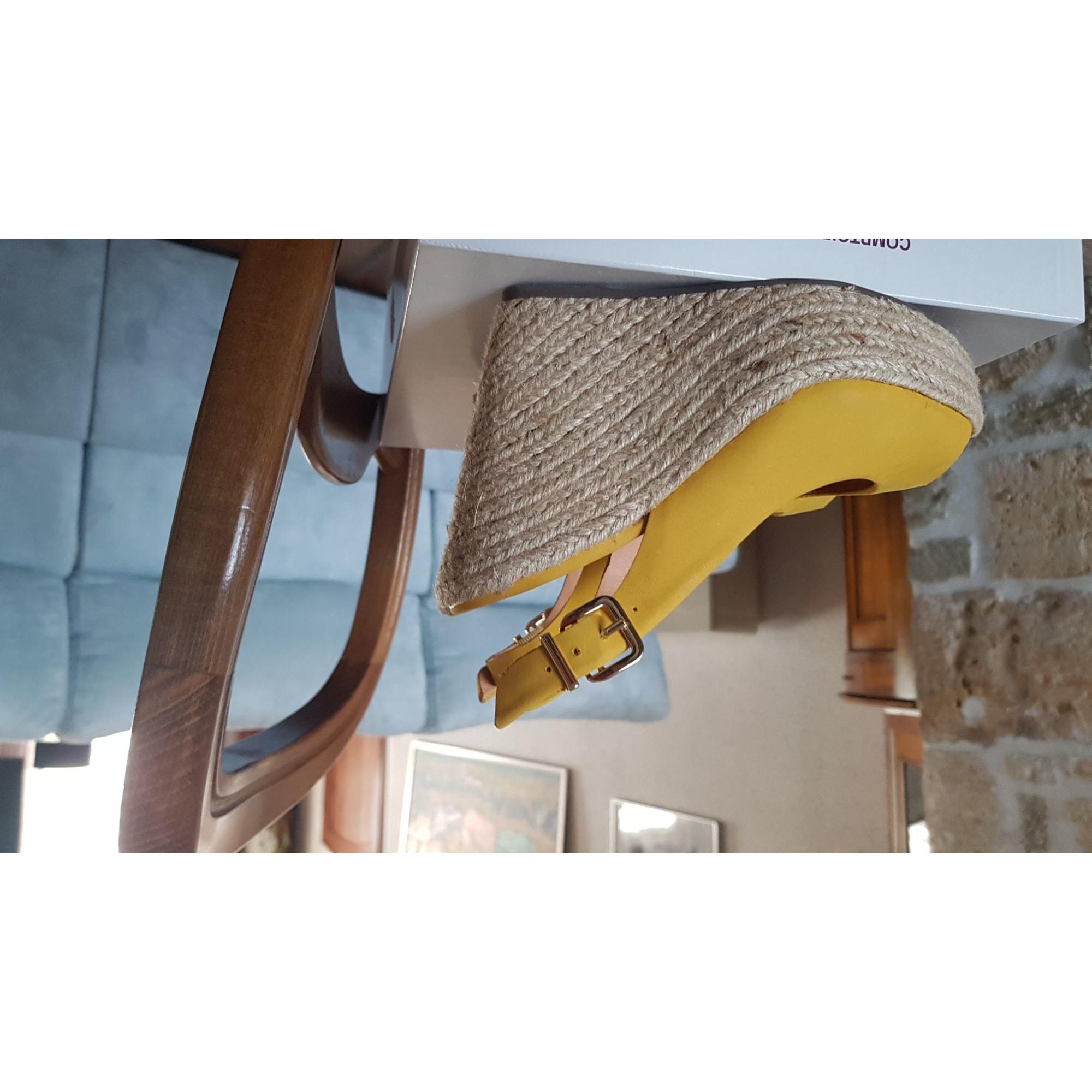 Wedge Sandals MINELLI Yellow