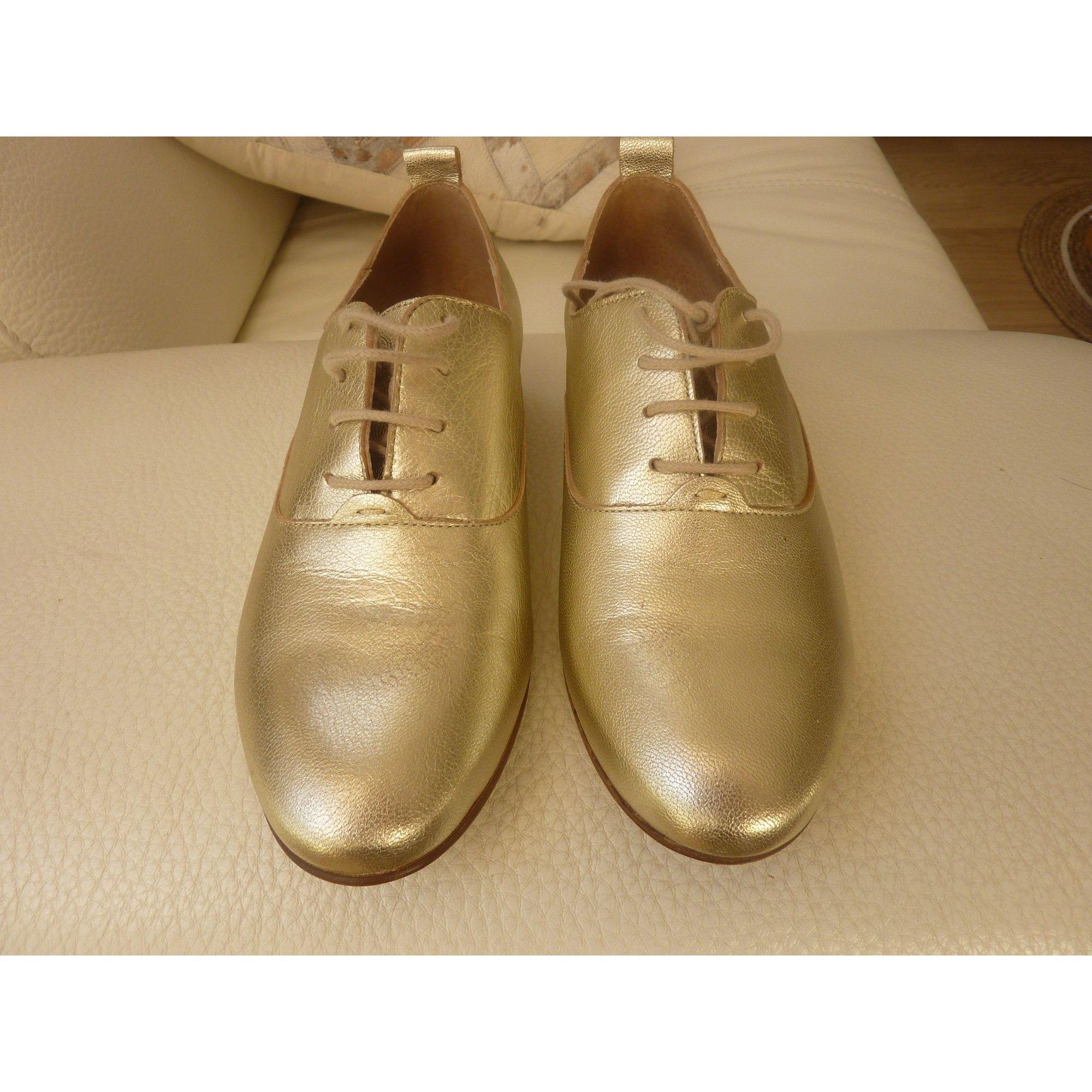 Chaussures à lacets  BURTON Doré, bronze, cuivre