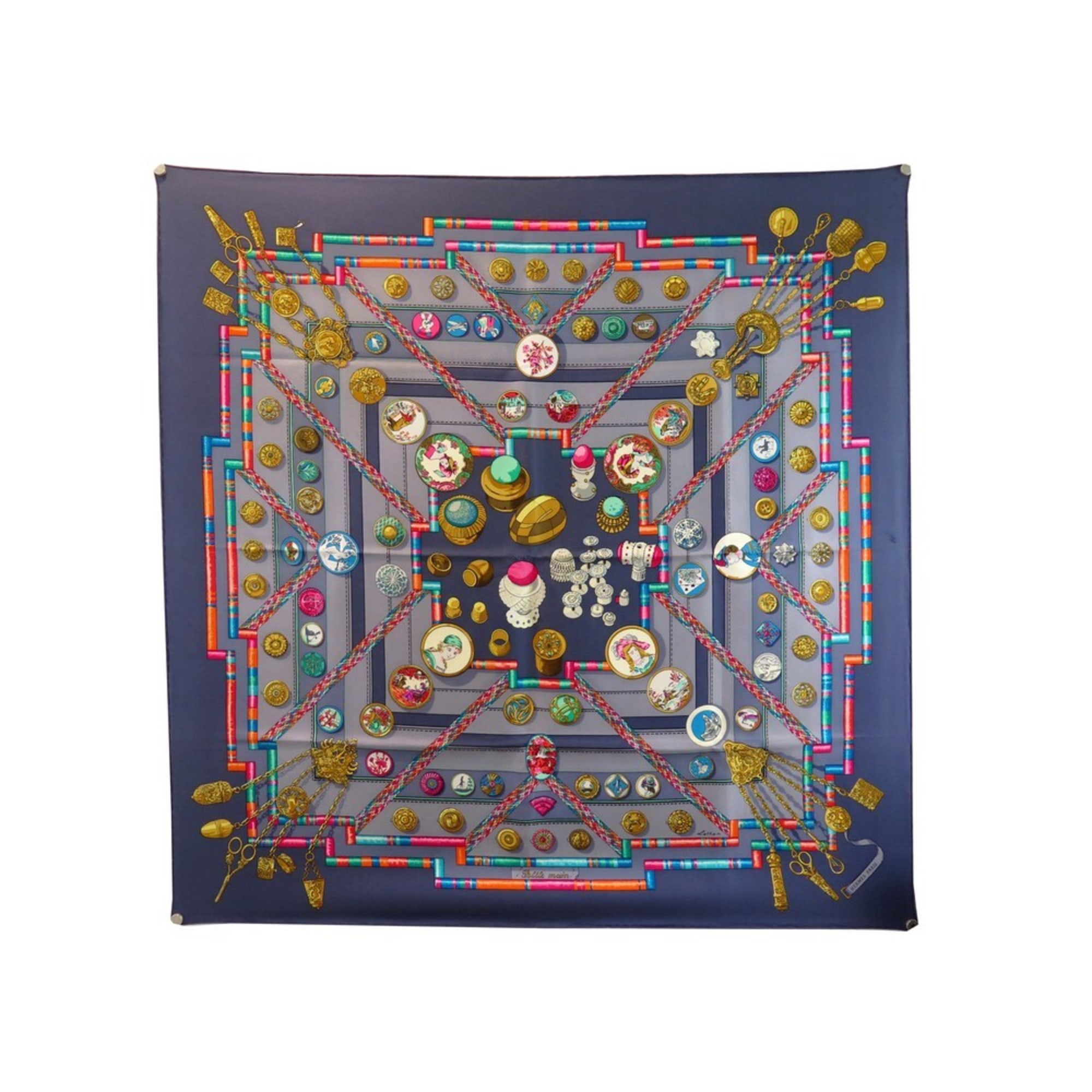Echarpe HERMÈS Multicolore