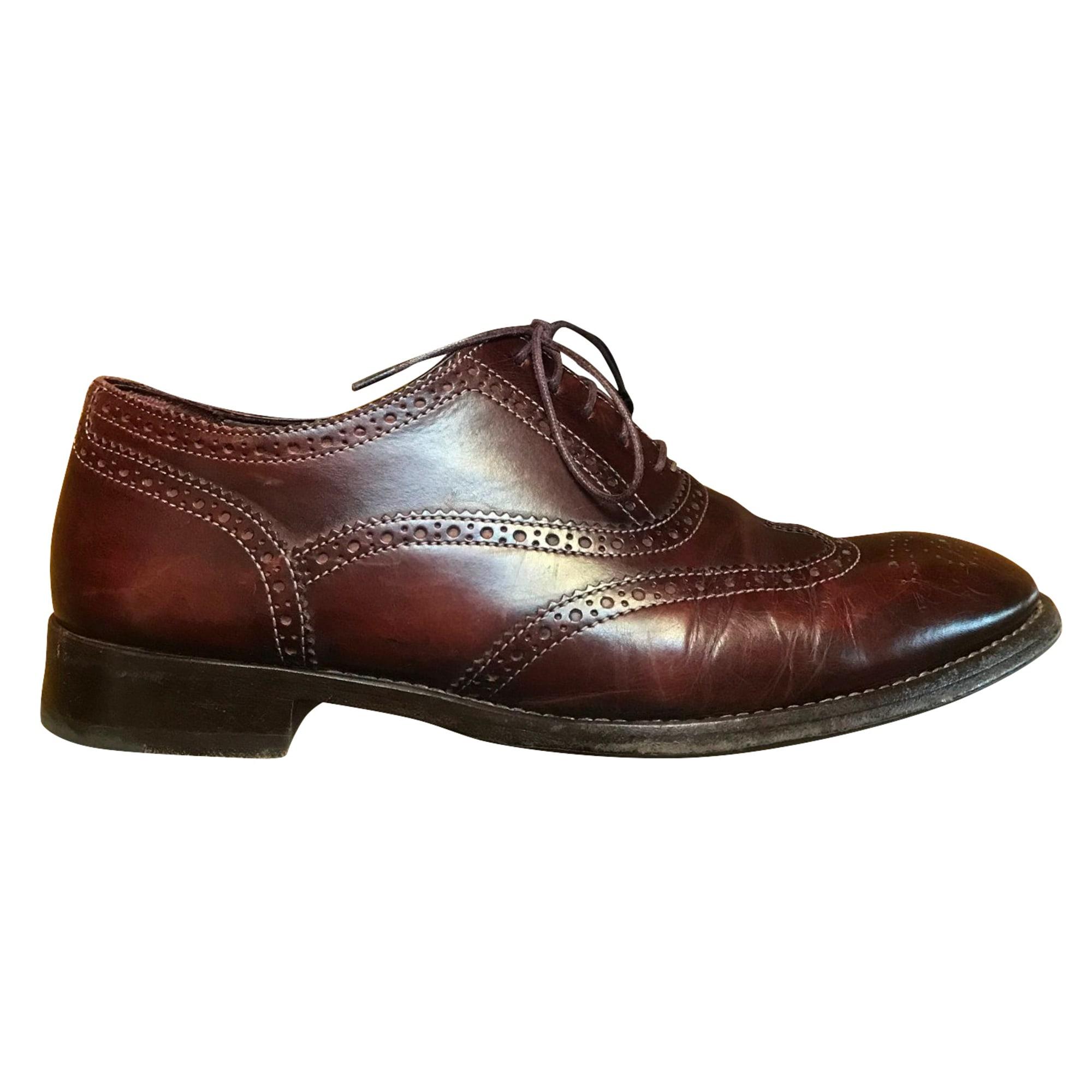 Chaussures à lacets PAUL SMITH Rouge, bordeaux