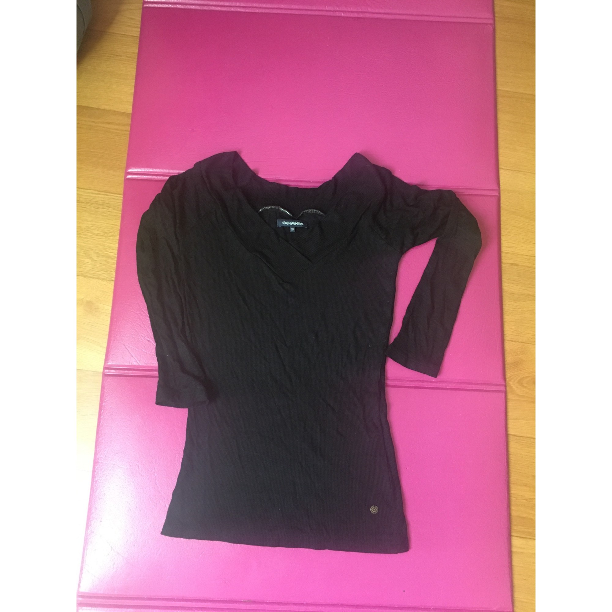 Top, tee-shirt BONOBO Noir