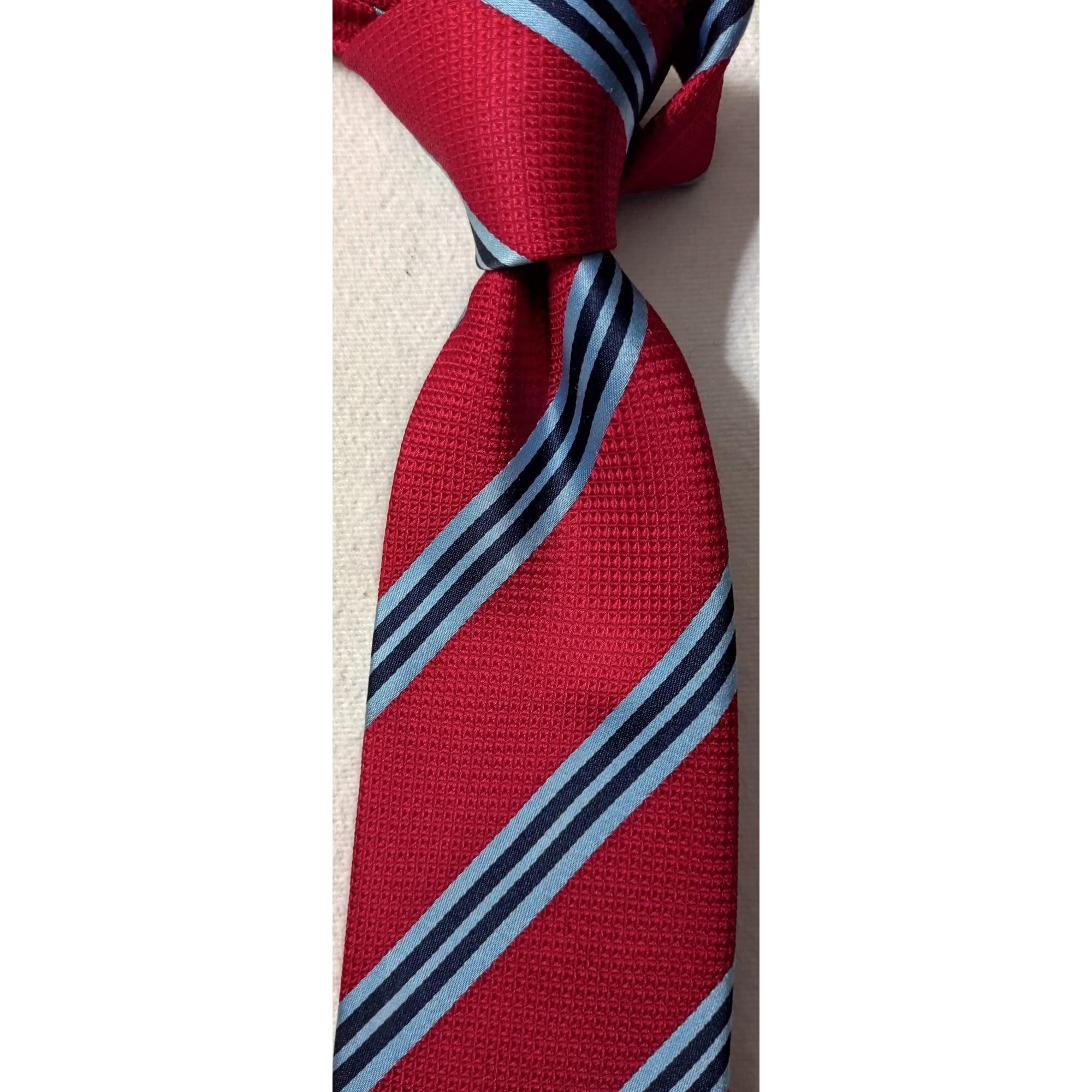 Cravate MILANO Rouge, bordeaux