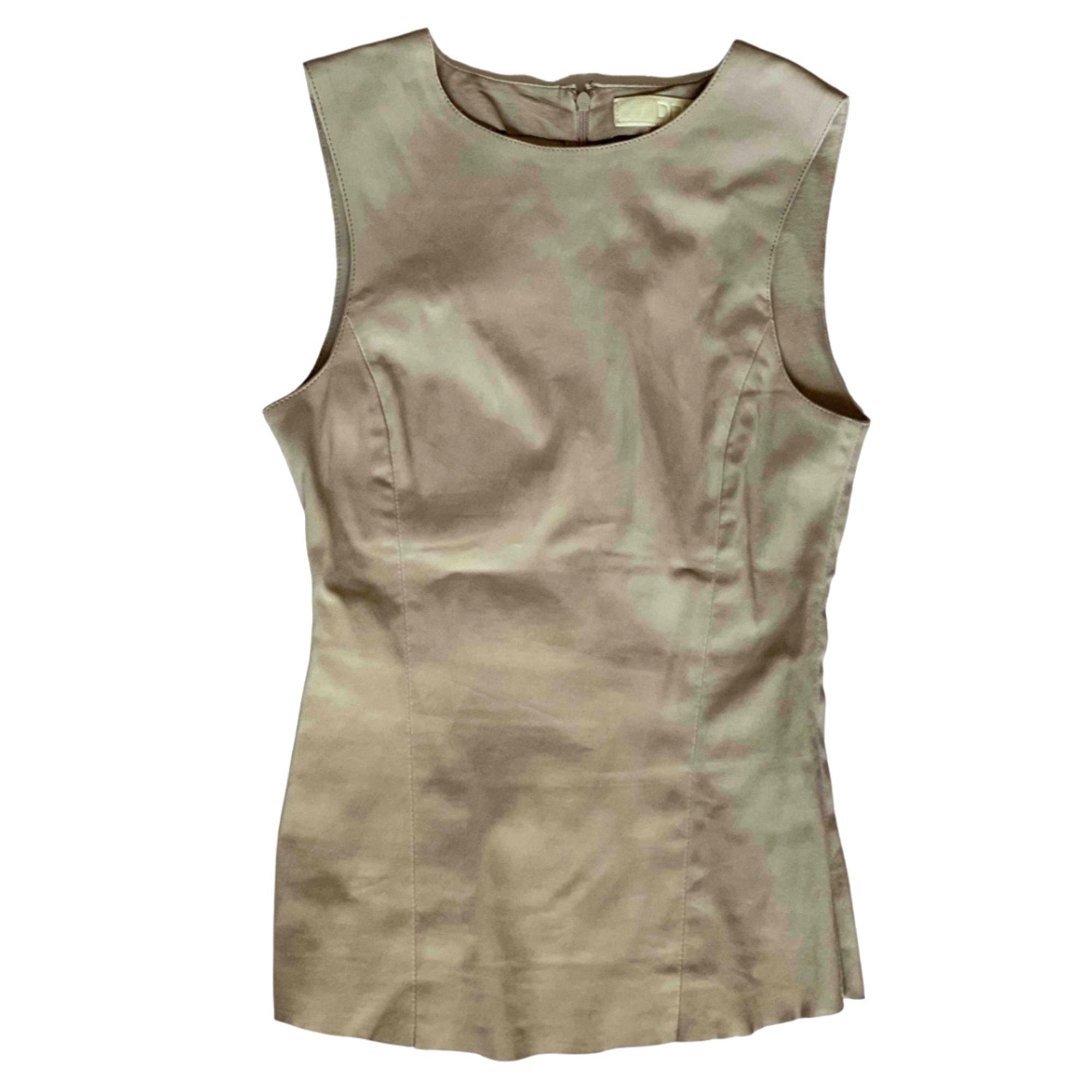 Top, tee-shirt DROME Beige, camel