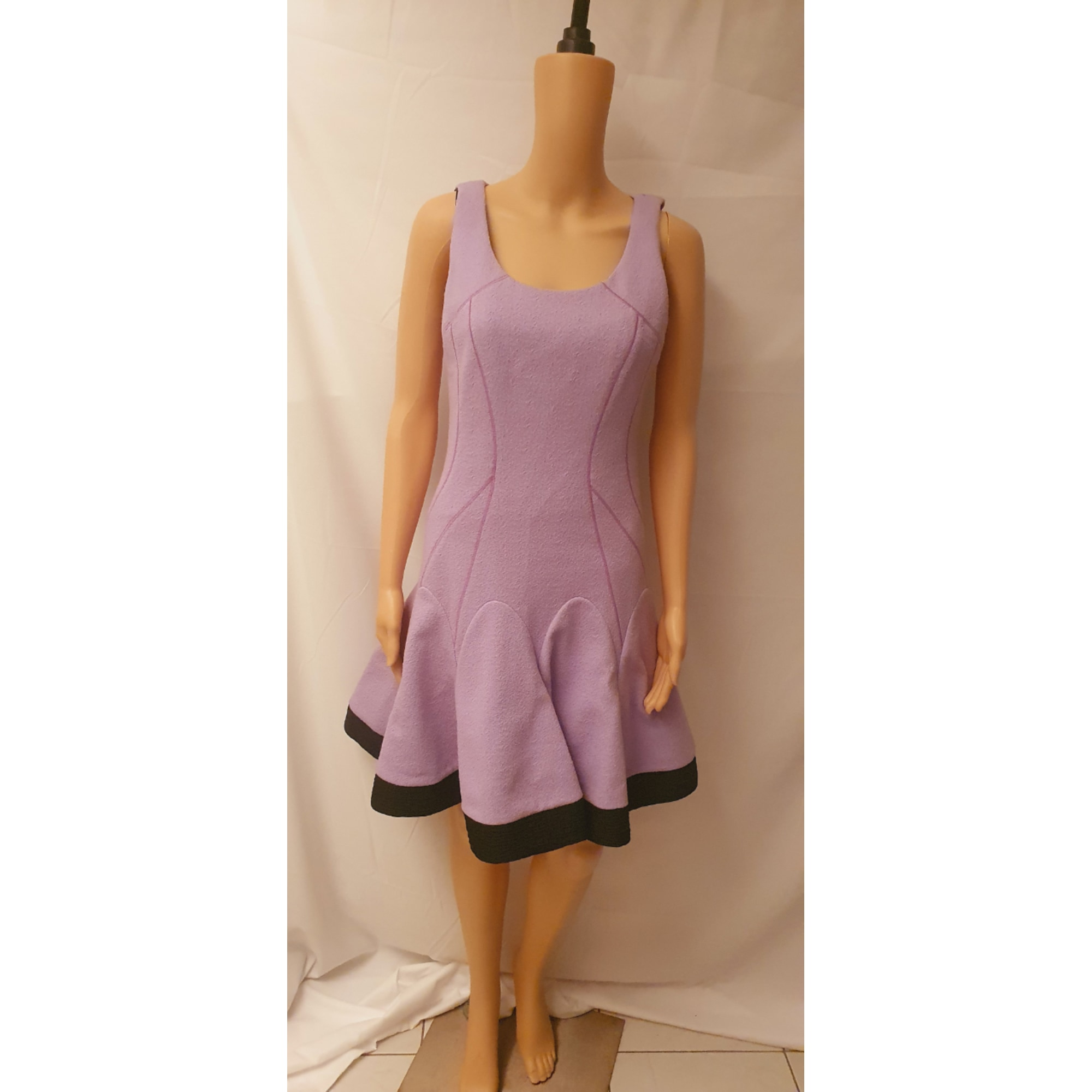 Robe mi-longue MARIA GRAZIA SEVERI Violet, mauve, lavande